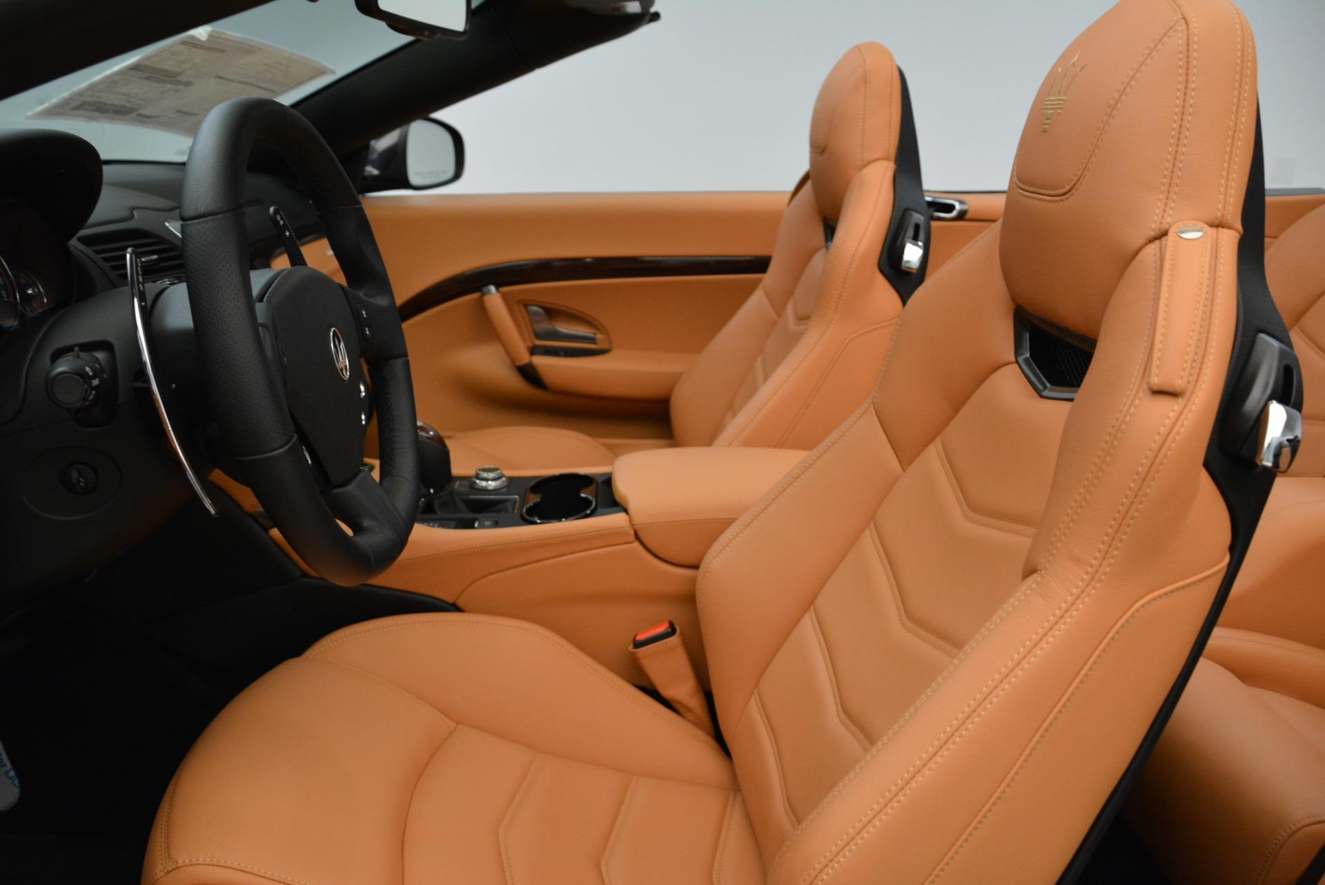 New 2018 Maserati GranTurismo Sport Convertible For Sale In Greenwich, CT. Alfa Romeo of Greenwich, M2028 1942_p25