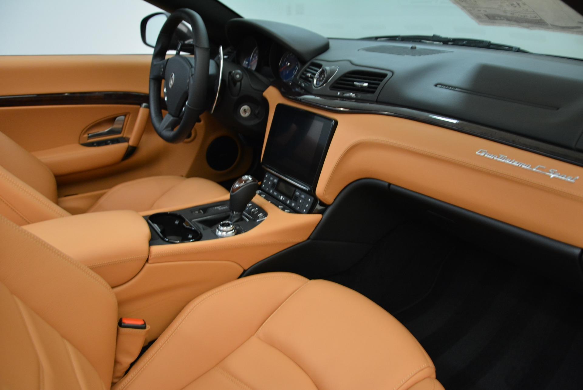 New 2018 Maserati GranTurismo Sport Convertible For Sale In Greenwich, CT. Alfa Romeo of Greenwich, M2028 1942_p27