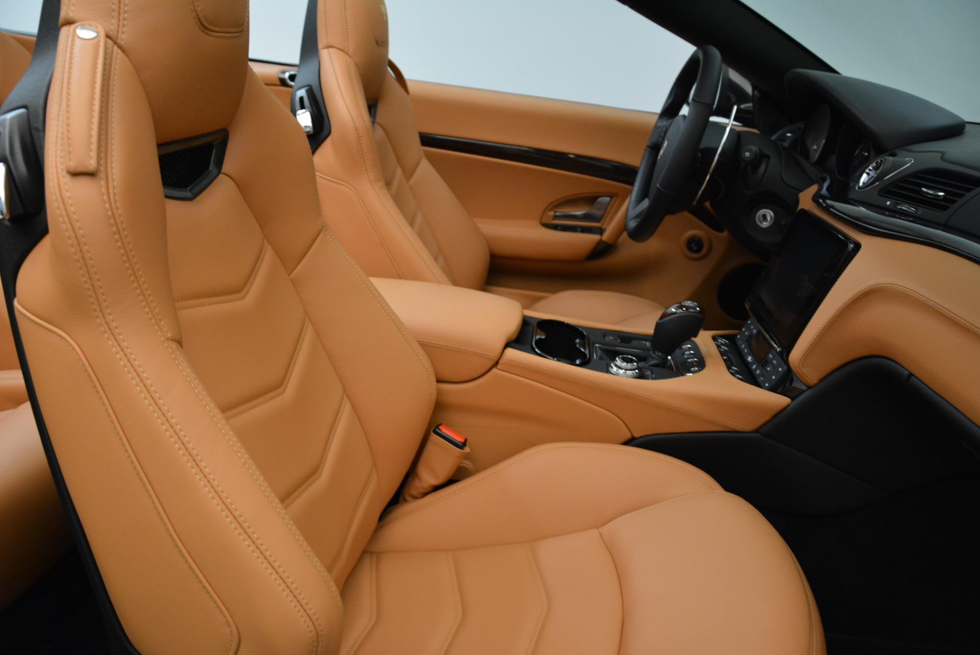 New 2018 Maserati GranTurismo Sport Convertible For Sale In Greenwich, CT. Alfa Romeo of Greenwich, M2028 1942_p28