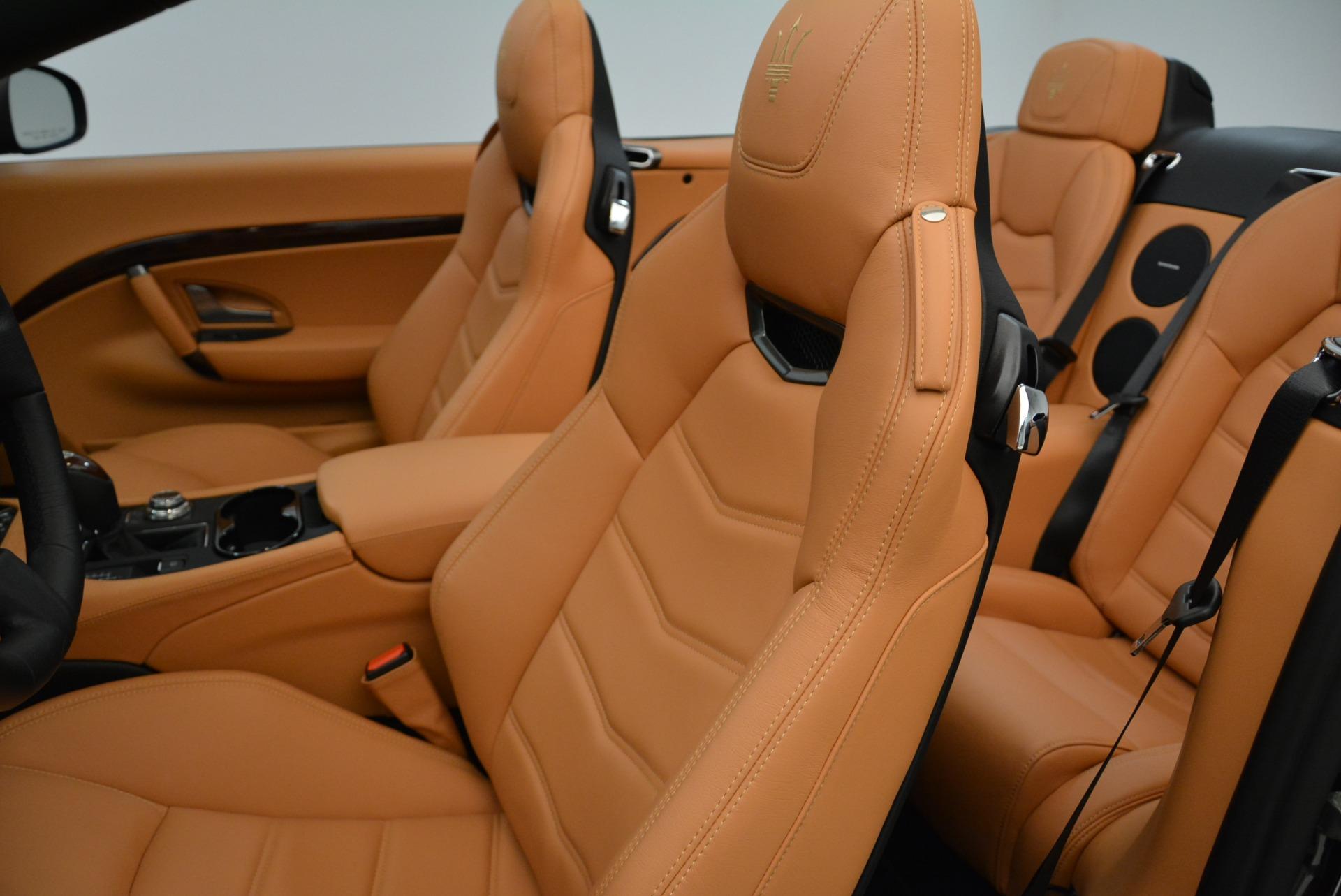 New 2018 Maserati GranTurismo Sport Convertible For Sale In Greenwich, CT. Alfa Romeo of Greenwich, M2028 1942_p30