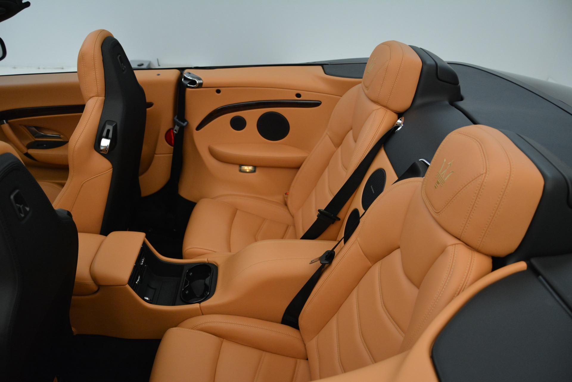 New 2018 Maserati GranTurismo Sport Convertible For Sale In Greenwich, CT. Alfa Romeo of Greenwich, M2028 1942_p32