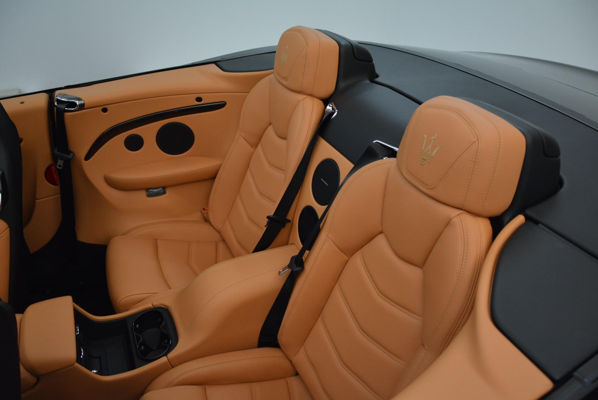 New 2018 Maserati GranTurismo Sport Convertible For Sale In Greenwich, CT. Alfa Romeo of Greenwich, M2028 1942_p33