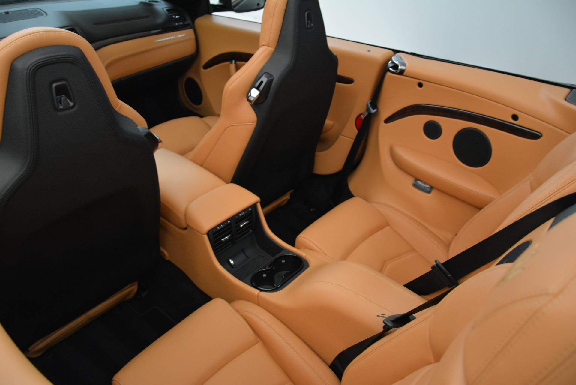 New 2018 Maserati GranTurismo Sport Convertible For Sale In Greenwich, CT. Alfa Romeo of Greenwich, M2028 1942_p34