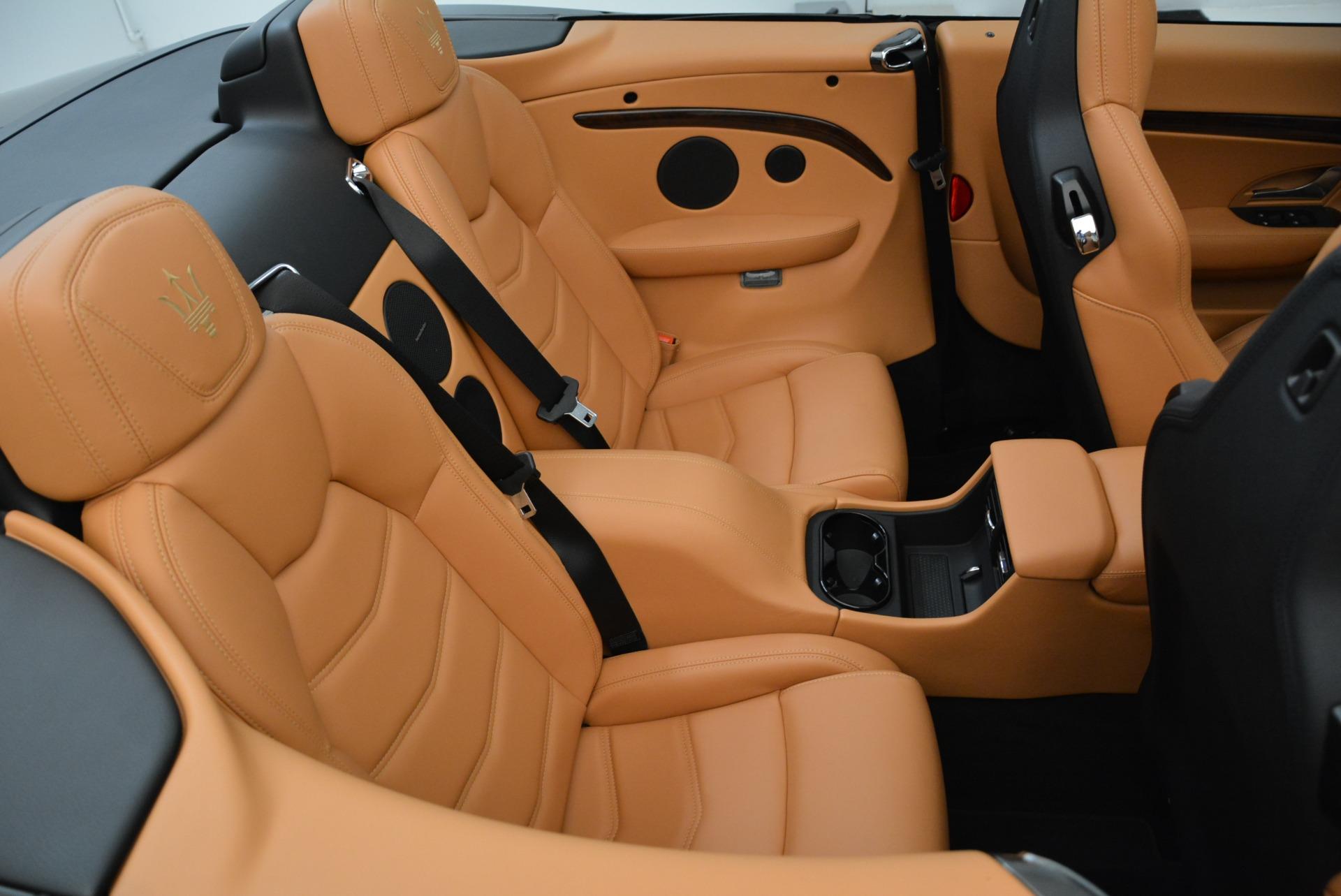 New 2018 Maserati GranTurismo Sport Convertible For Sale In Greenwich, CT. Alfa Romeo of Greenwich, M2028 1942_p36