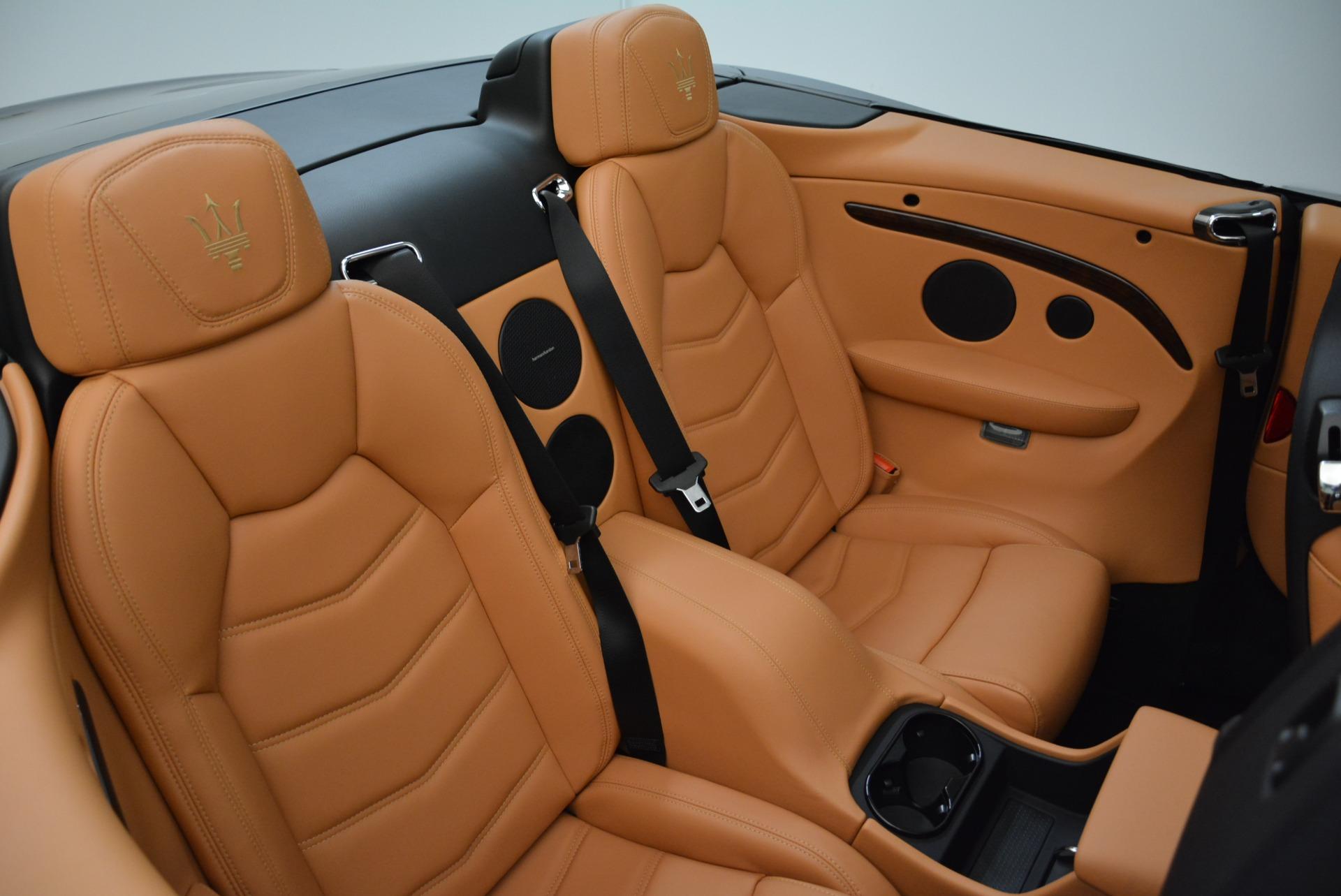 New 2018 Maserati GranTurismo Sport Convertible For Sale In Greenwich, CT. Alfa Romeo of Greenwich, M2028 1942_p37