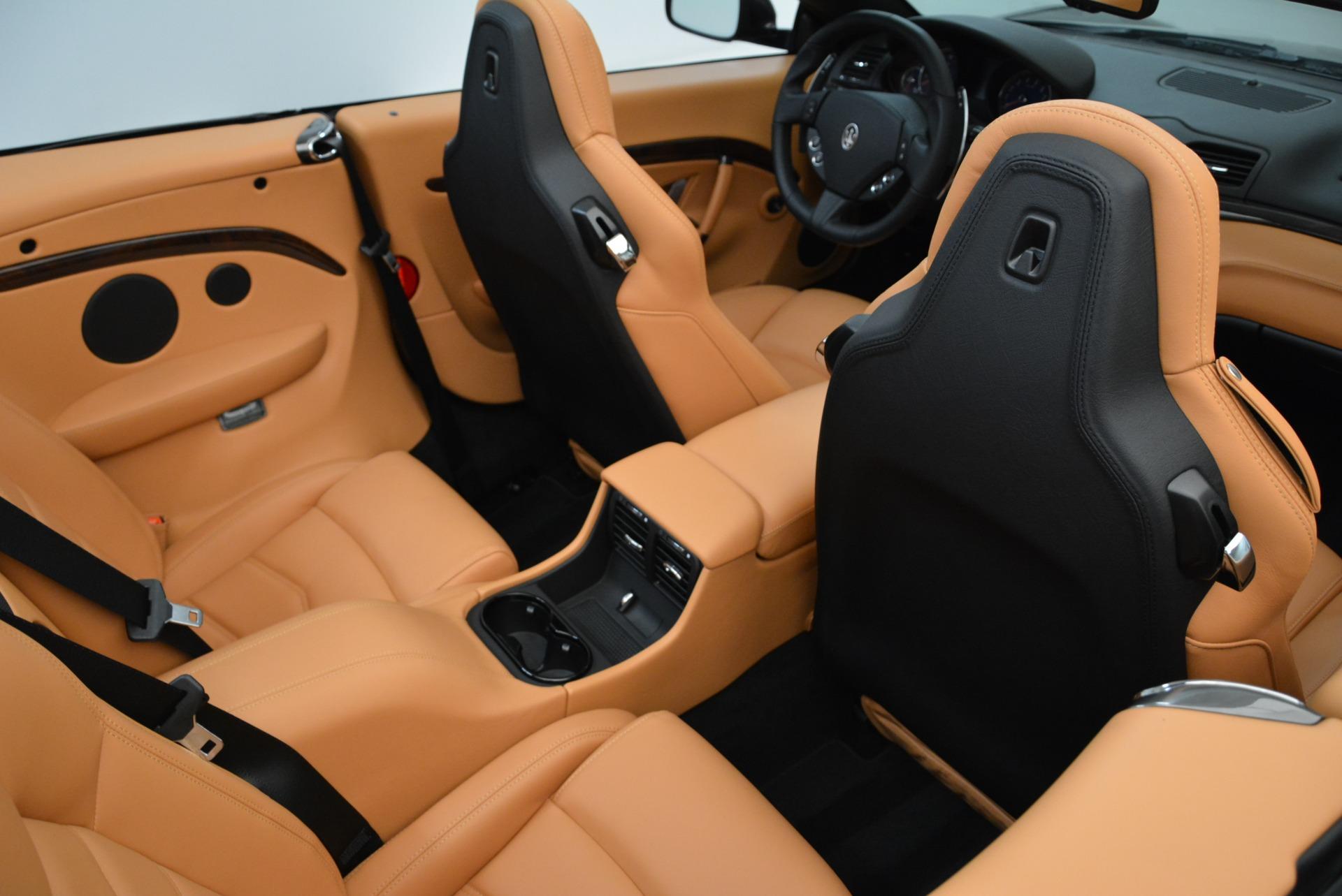 New 2018 Maserati GranTurismo Sport Convertible For Sale In Greenwich, CT. Alfa Romeo of Greenwich, M2028 1942_p38