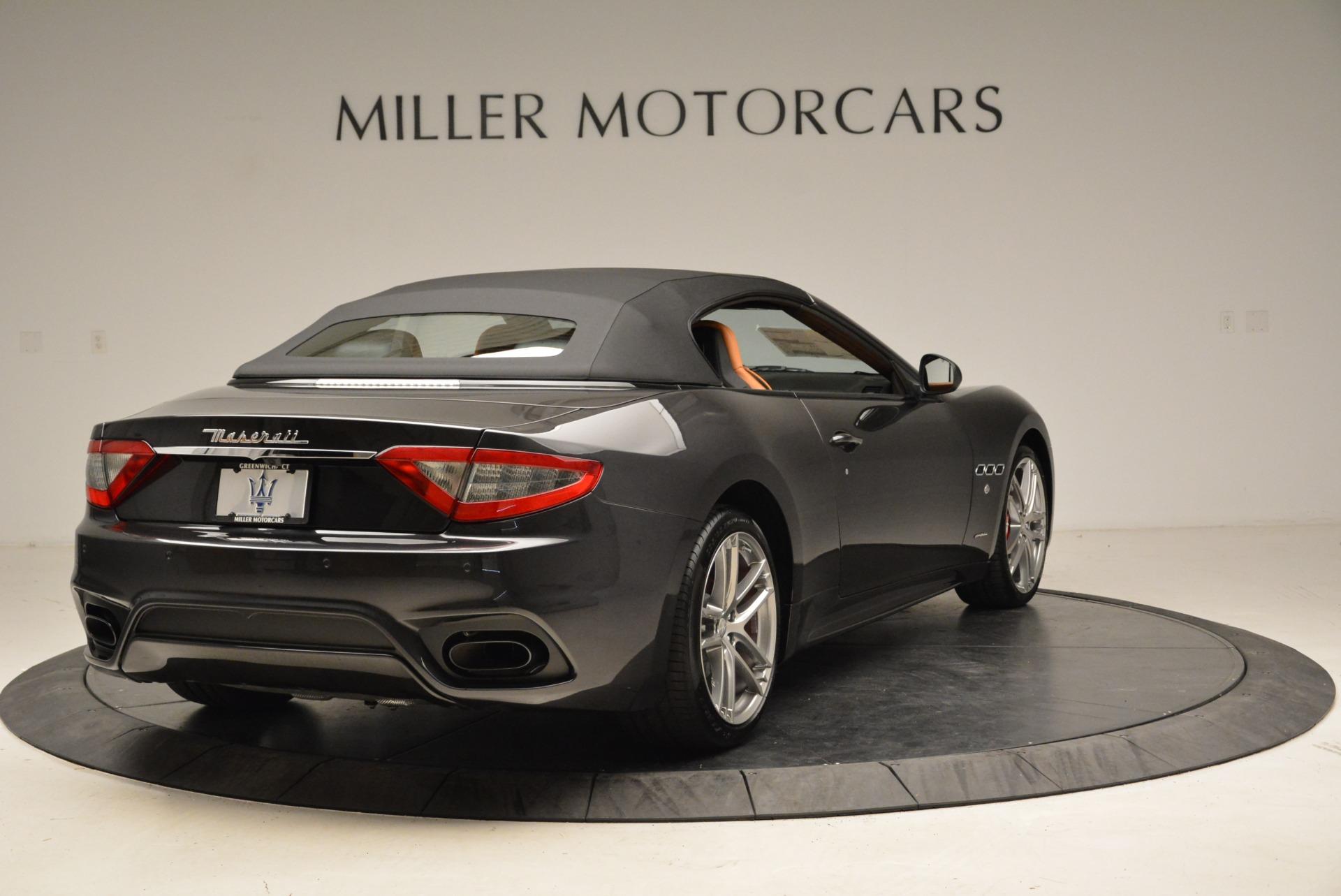 New 2018 Maserati GranTurismo Sport Convertible For Sale In Greenwich, CT. Alfa Romeo of Greenwich, M2028 1942_p7