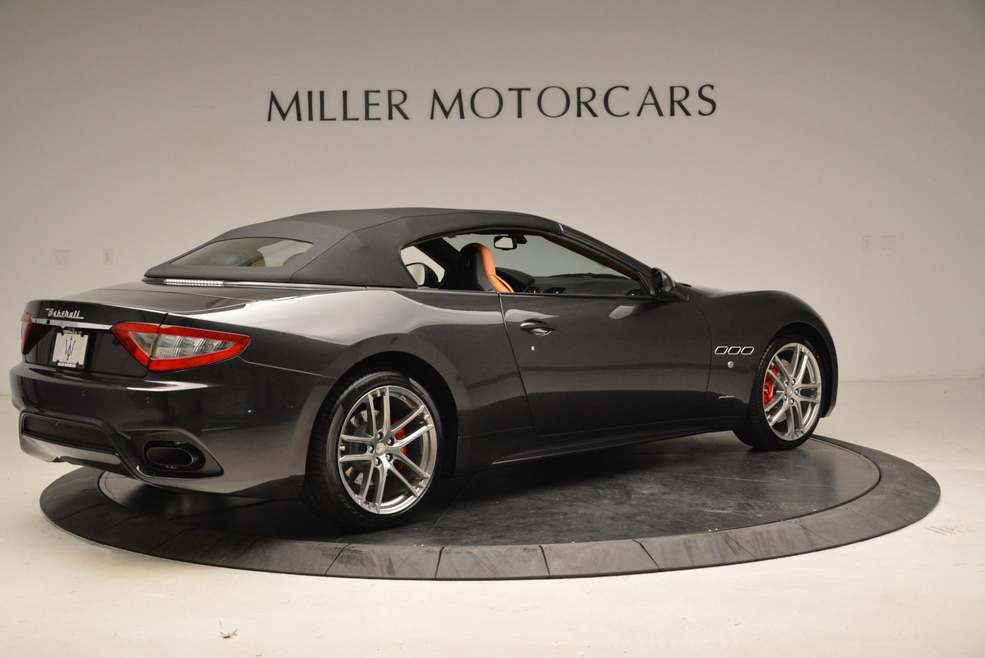 New 2018 Maserati GranTurismo Sport Convertible For Sale In Greenwich, CT. Alfa Romeo of Greenwich, M2028 1942_p8
