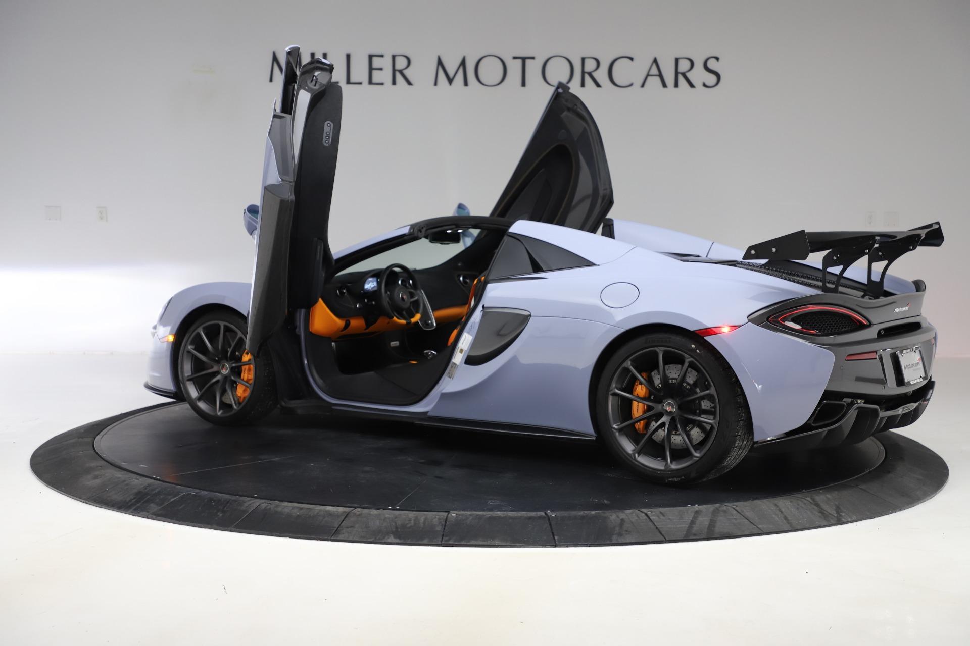 New 2018 McLaren 570S Spider For Sale In Greenwich, CT. Alfa Romeo of Greenwich, MC332 1968_p20