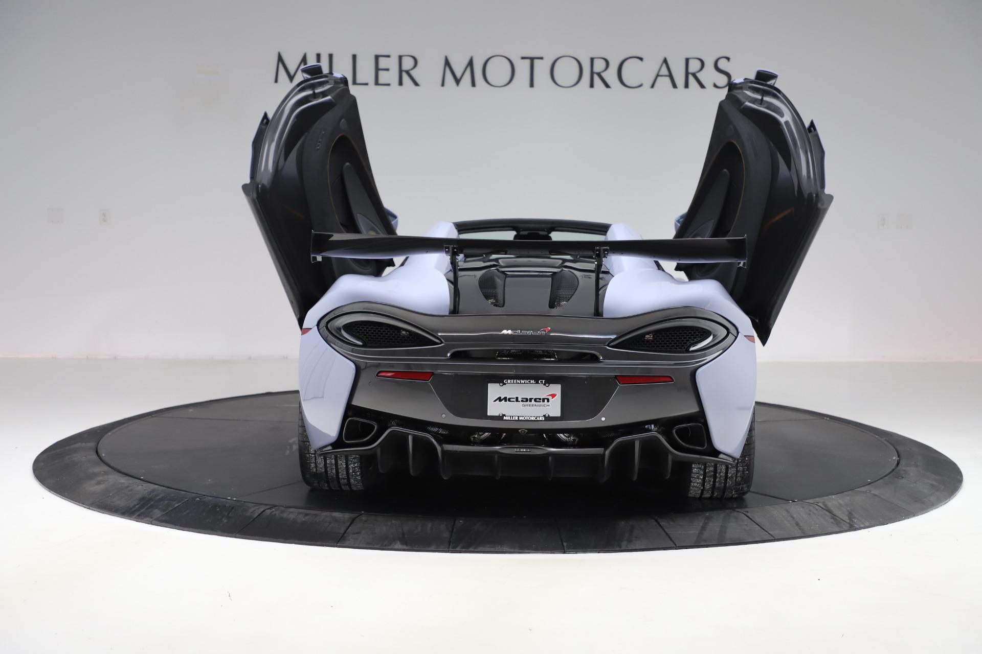 New 2018 McLaren 570S Spider For Sale In Greenwich, CT. Alfa Romeo of Greenwich, MC332 1968_p21