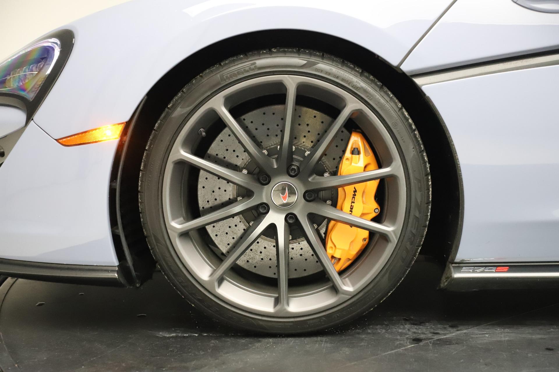 New 2018 McLaren 570S Spider For Sale In Greenwich, CT. Alfa Romeo of Greenwich, MC332 1968_p25