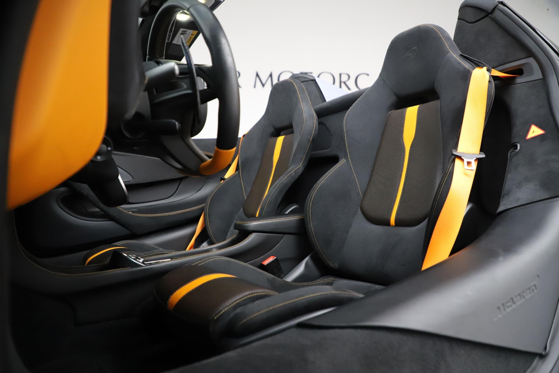 New 2018 McLaren 570S Spider For Sale In Greenwich, CT. Alfa Romeo of Greenwich, MC332 1968_p30