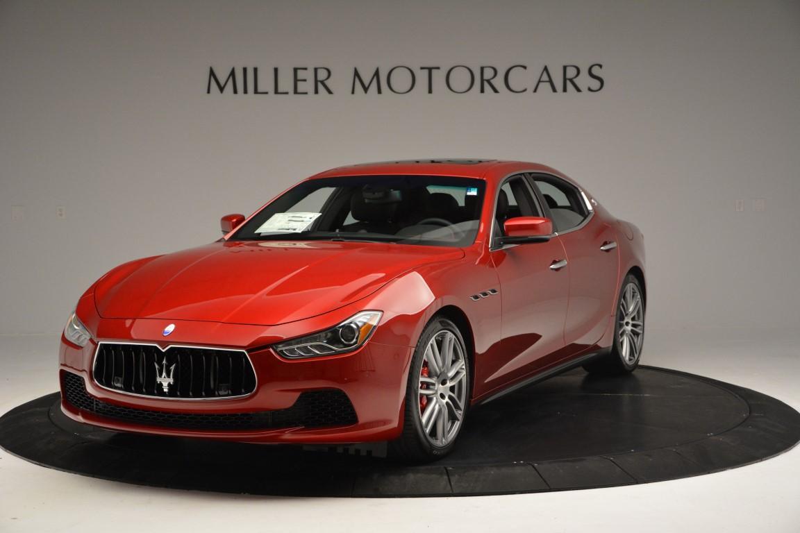 New 2016 Maserati Ghibli S Q4 For Sale In Greenwich, CT. Alfa Romeo of Greenwich, M1622 197_main