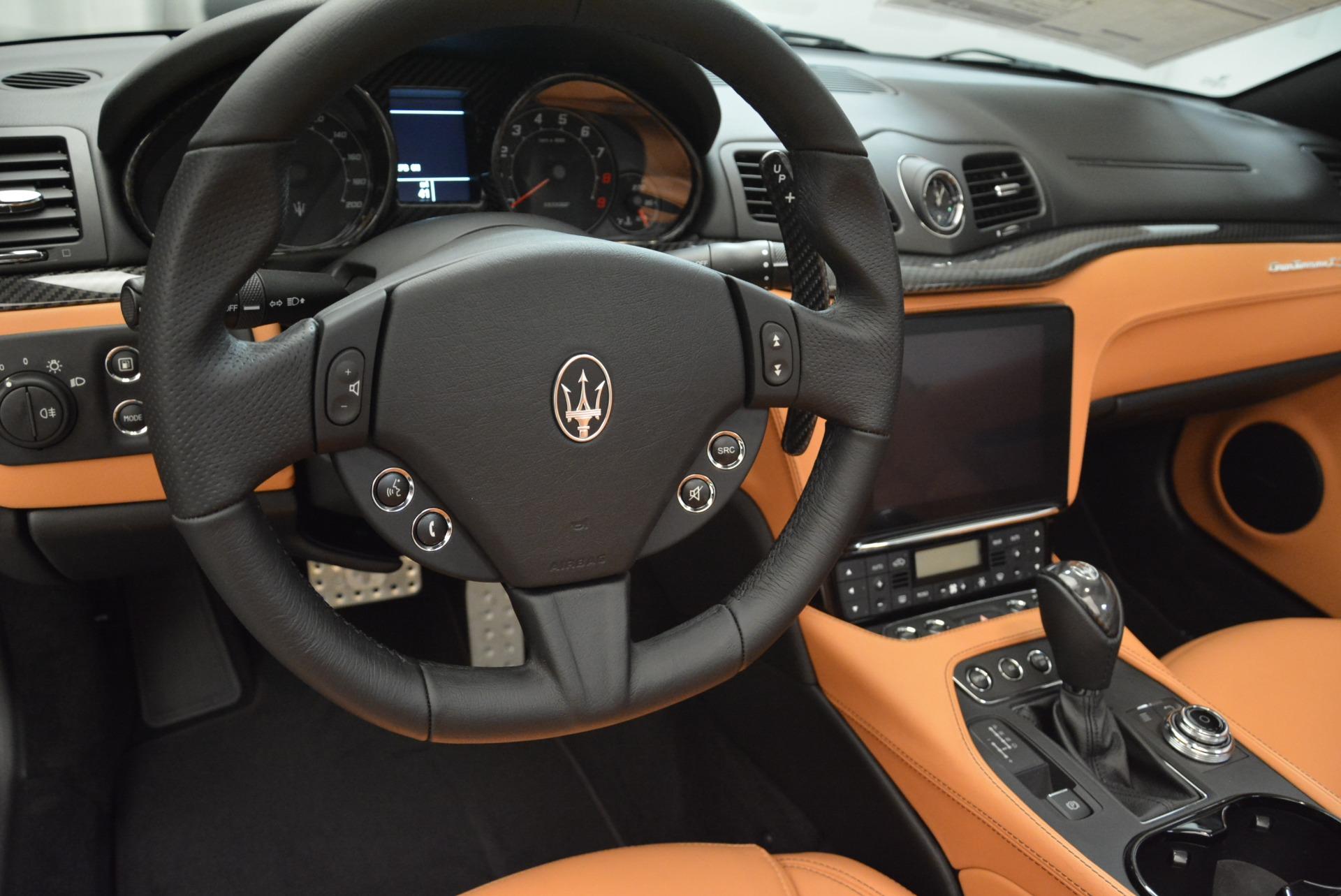 New 2018 Maserati GranTurismo MC Convertible For Sale In Greenwich, CT. Alfa Romeo of Greenwich, M2041 1973_p27