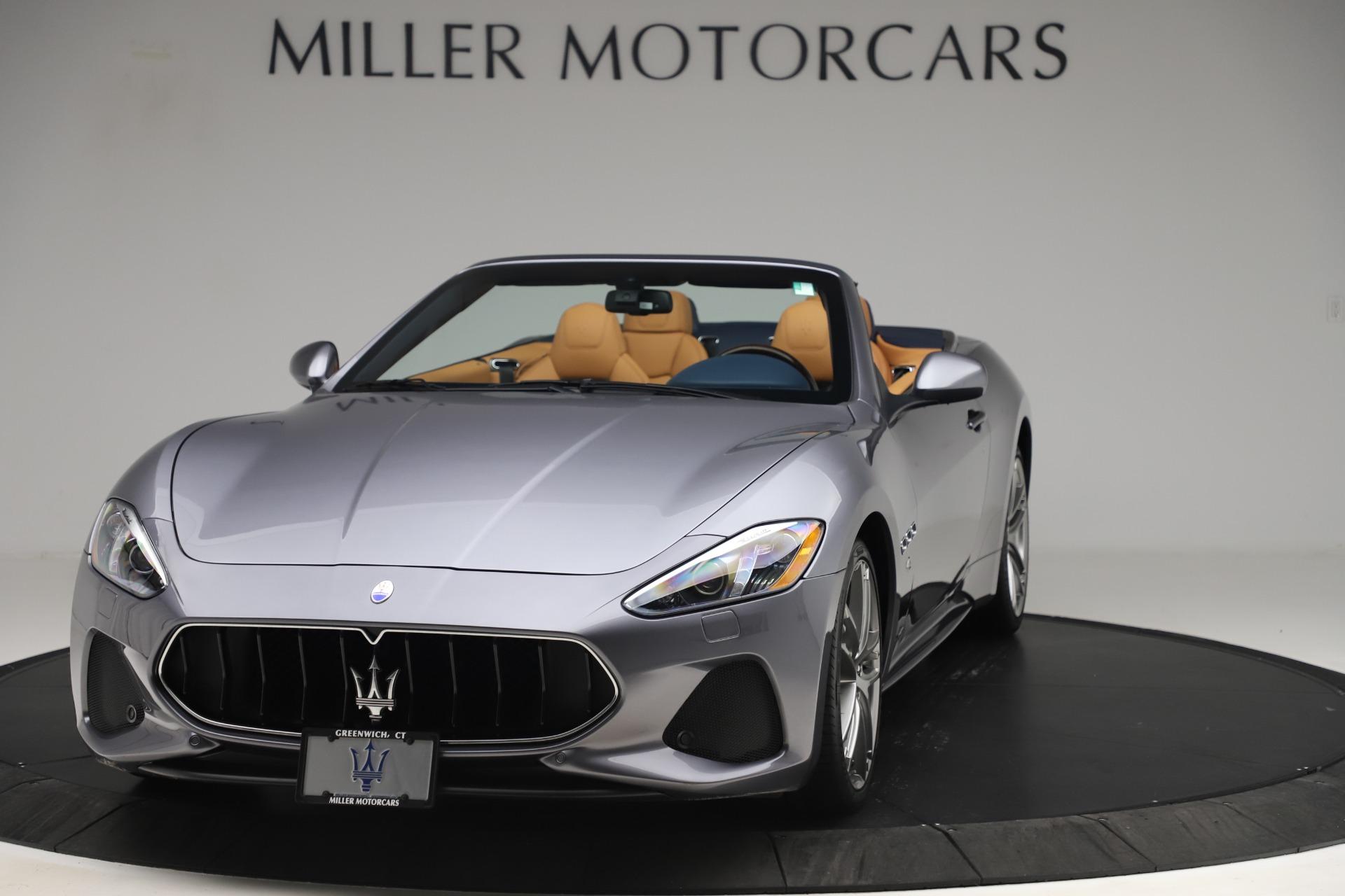 New 2018 Maserati GranTurismo Sport Convertible For Sale In Greenwich, CT. Alfa Romeo of Greenwich, W562 1977_main