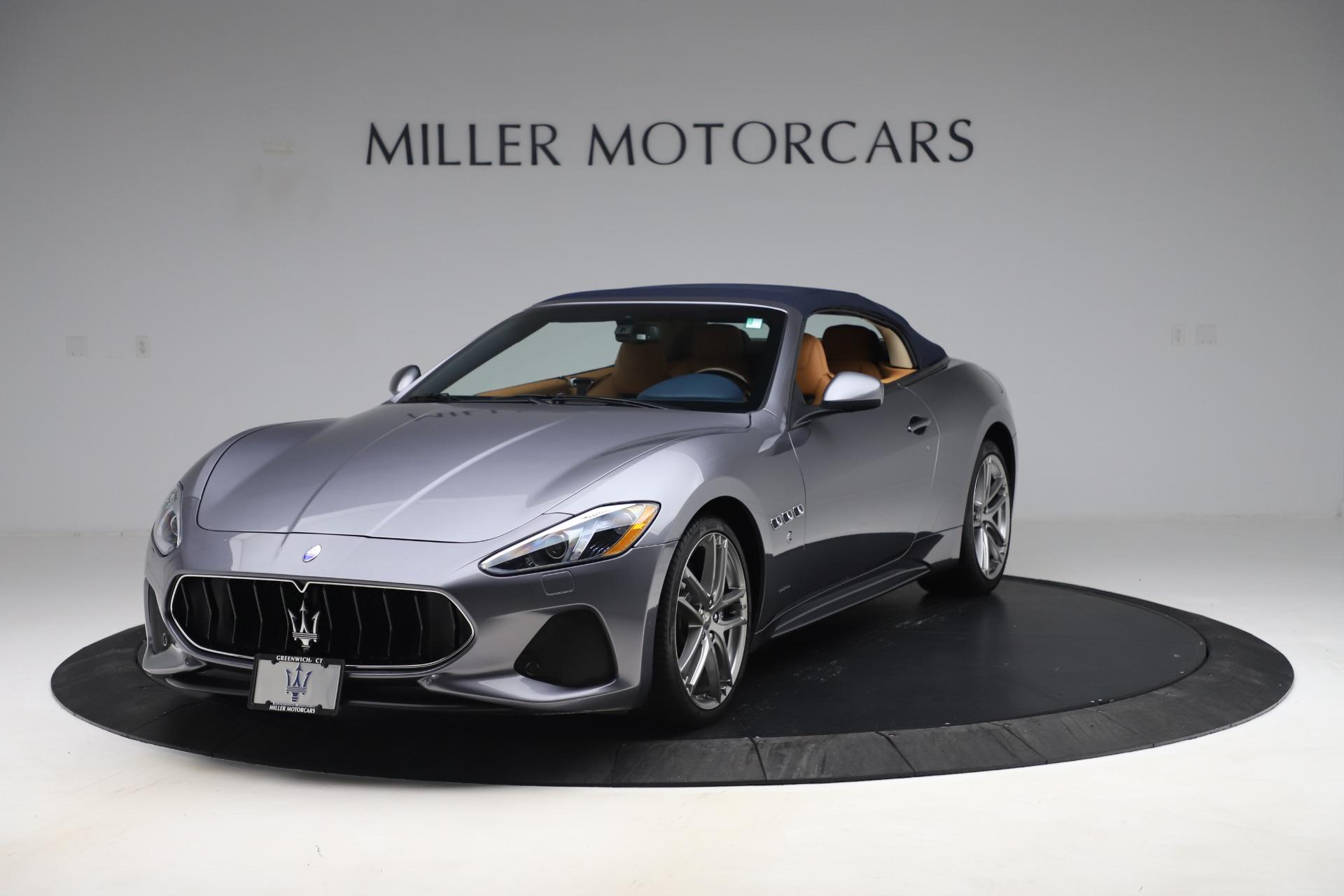 New 2018 Maserati GranTurismo Sport Convertible For Sale In Greenwich, CT. Alfa Romeo of Greenwich, W562 1977_p14