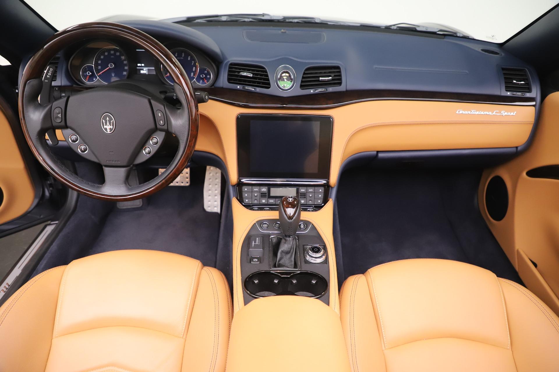 New 2018 Maserati GranTurismo Sport Convertible For Sale In Greenwich, CT. Alfa Romeo of Greenwich, W562 1977_p22