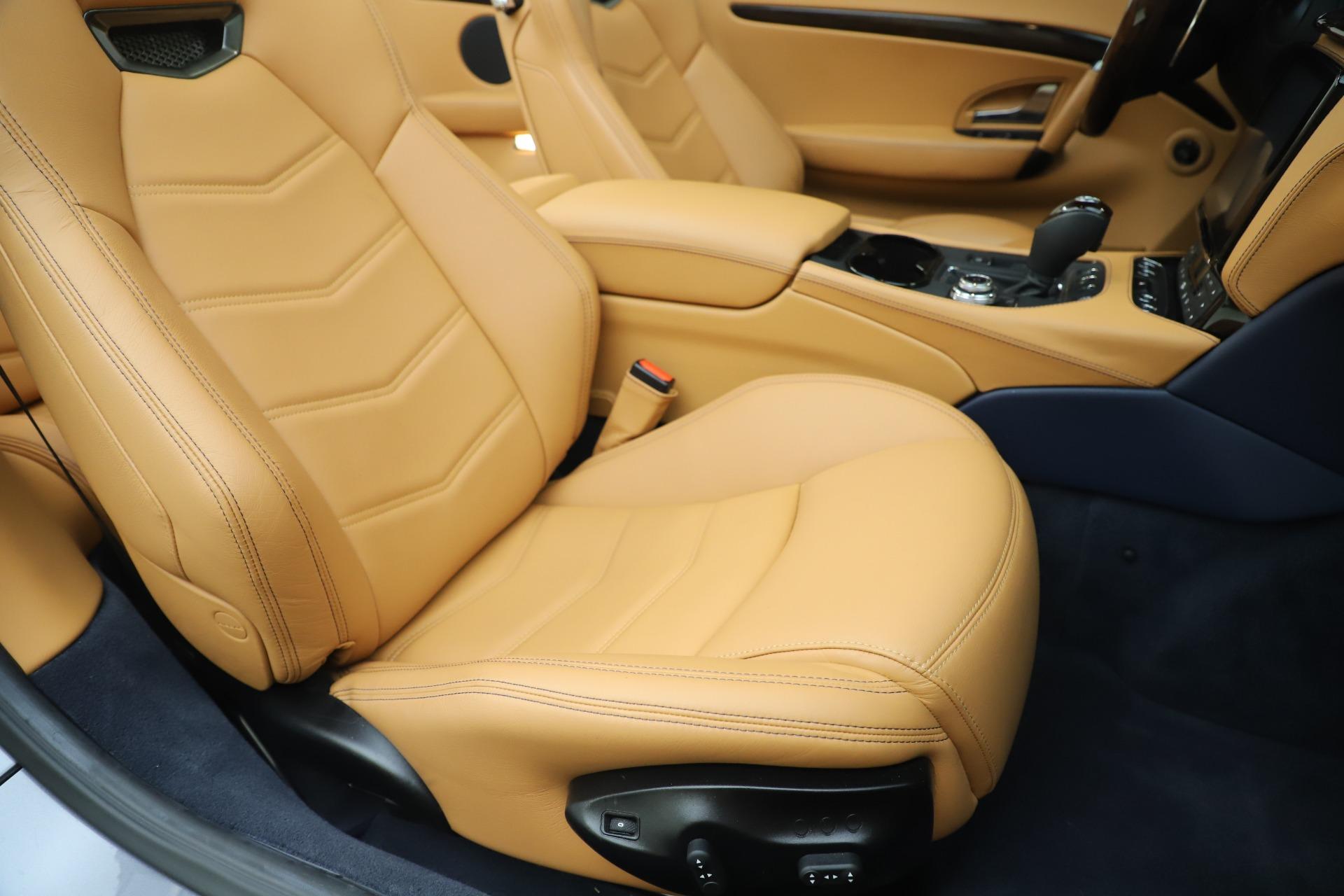 New 2018 Maserati GranTurismo Sport Convertible For Sale In Greenwich, CT. Alfa Romeo of Greenwich, W562 1977_p28