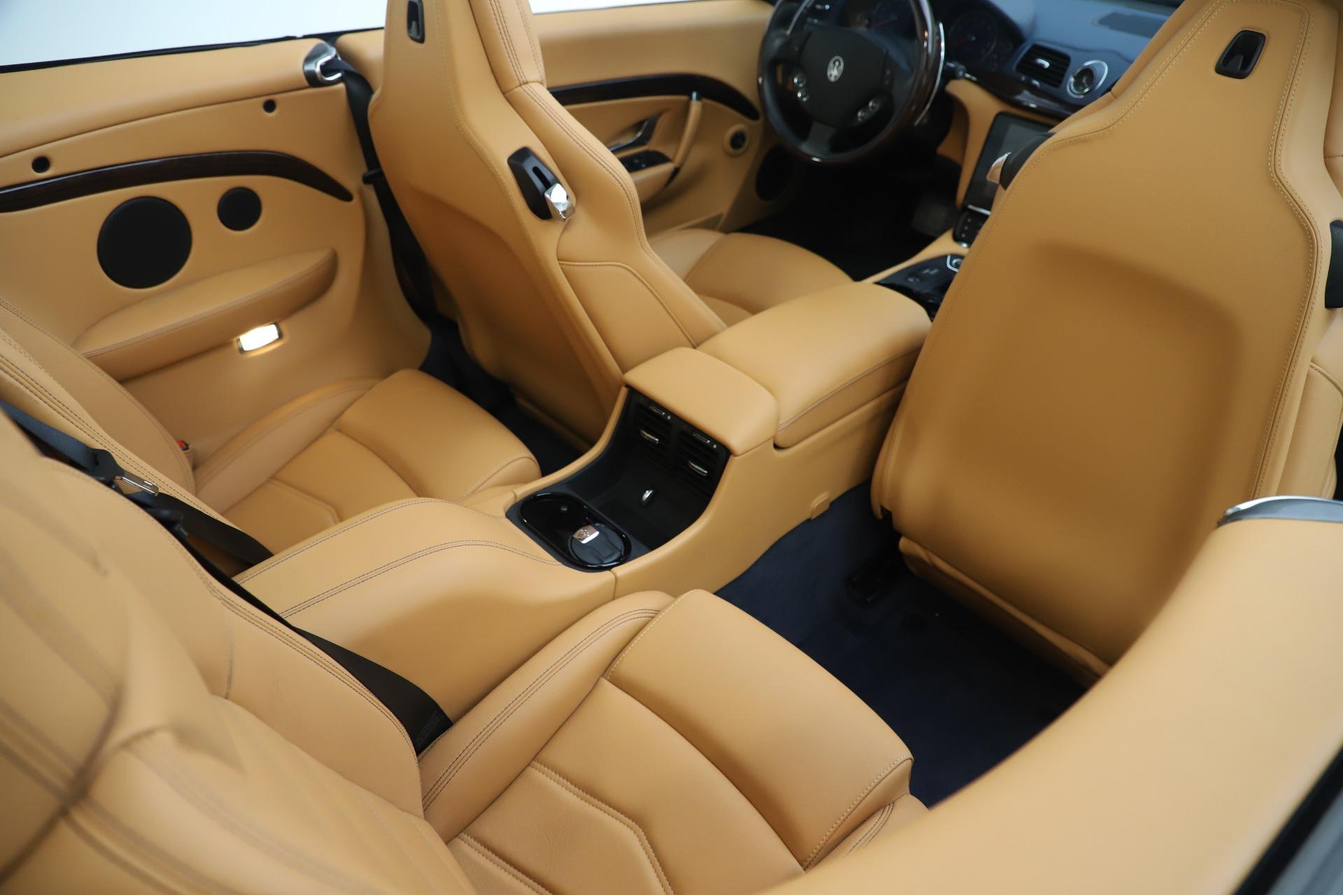 New 2018 Maserati GranTurismo Sport Convertible For Sale In Greenwich, CT. Alfa Romeo of Greenwich, W562 1977_p31
