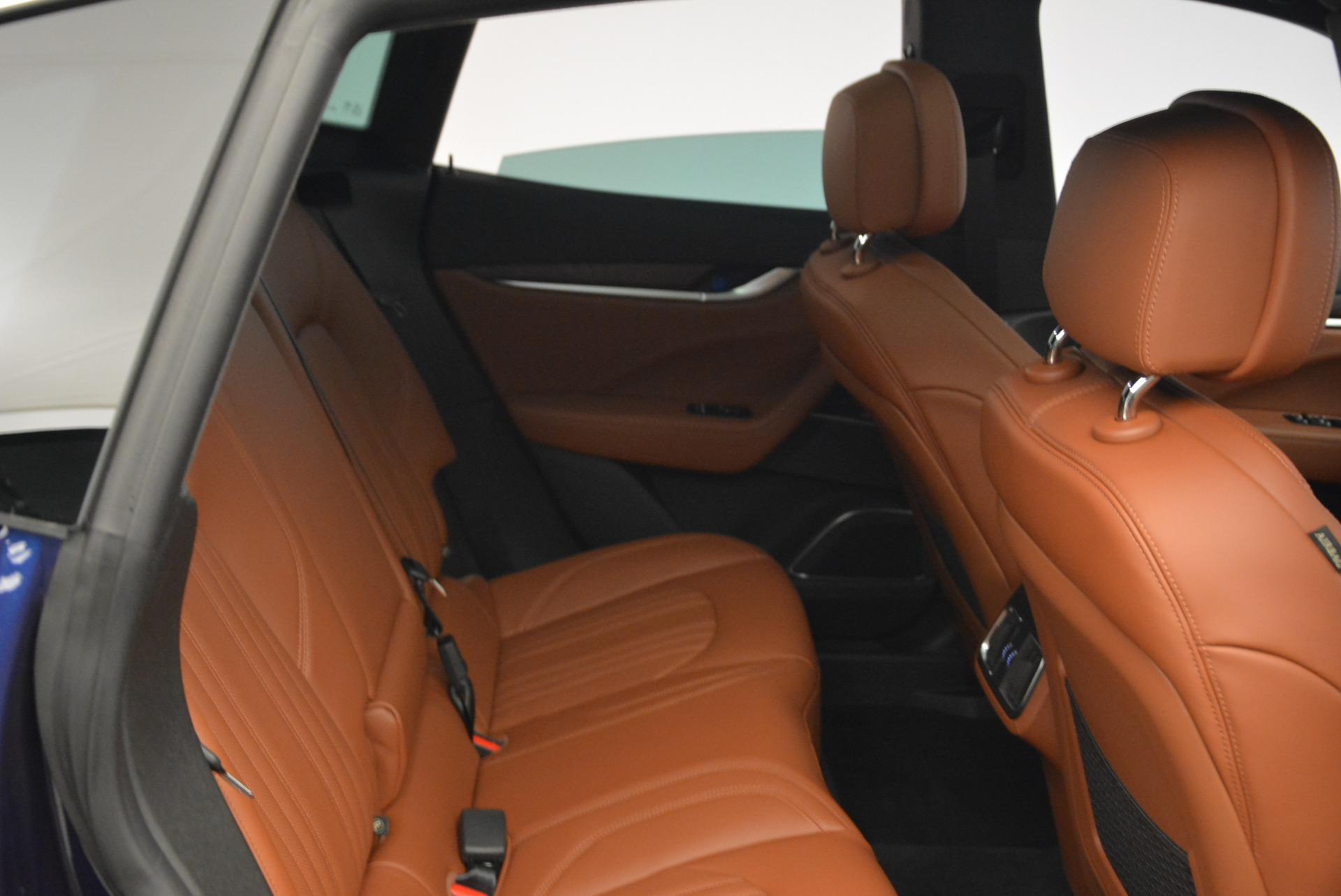New 2018 Maserati Levante S Q4 GranLusso For Sale In Greenwich, CT. Alfa Romeo of Greenwich, M2038 1978_p24