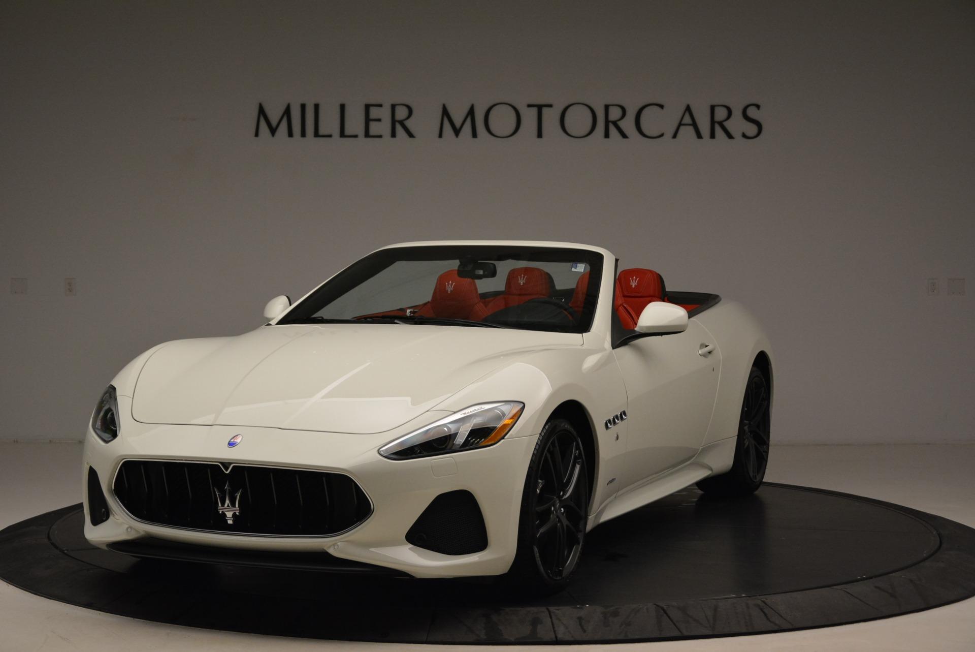 New 2018 Maserati GranTurismo Sport Convertible For Sale In Greenwich, CT. Alfa Romeo of Greenwich, M2036 1979_main