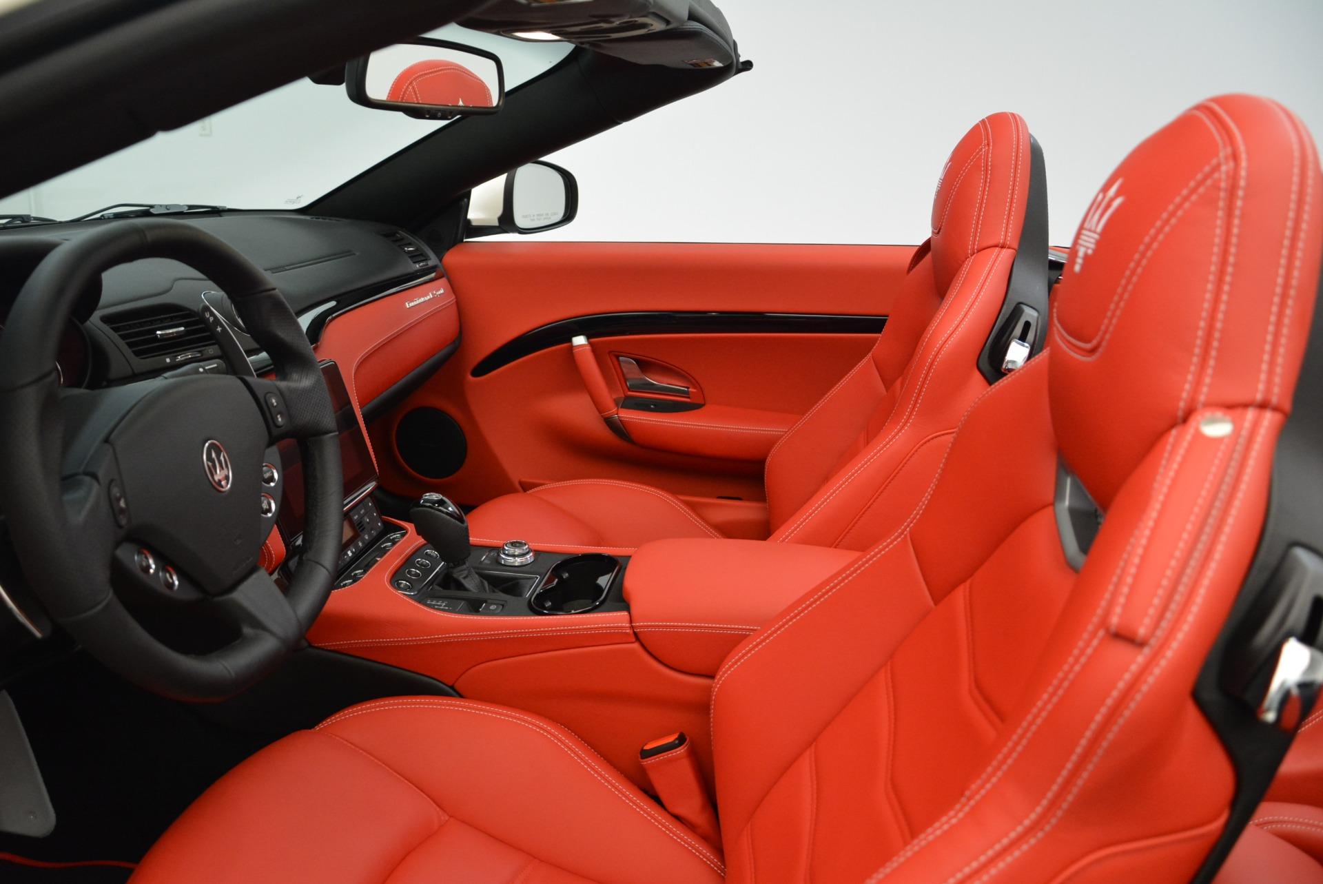 New 2018 Maserati GranTurismo Sport Convertible For Sale In Greenwich, CT. Alfa Romeo of Greenwich, M2036 1979_p25