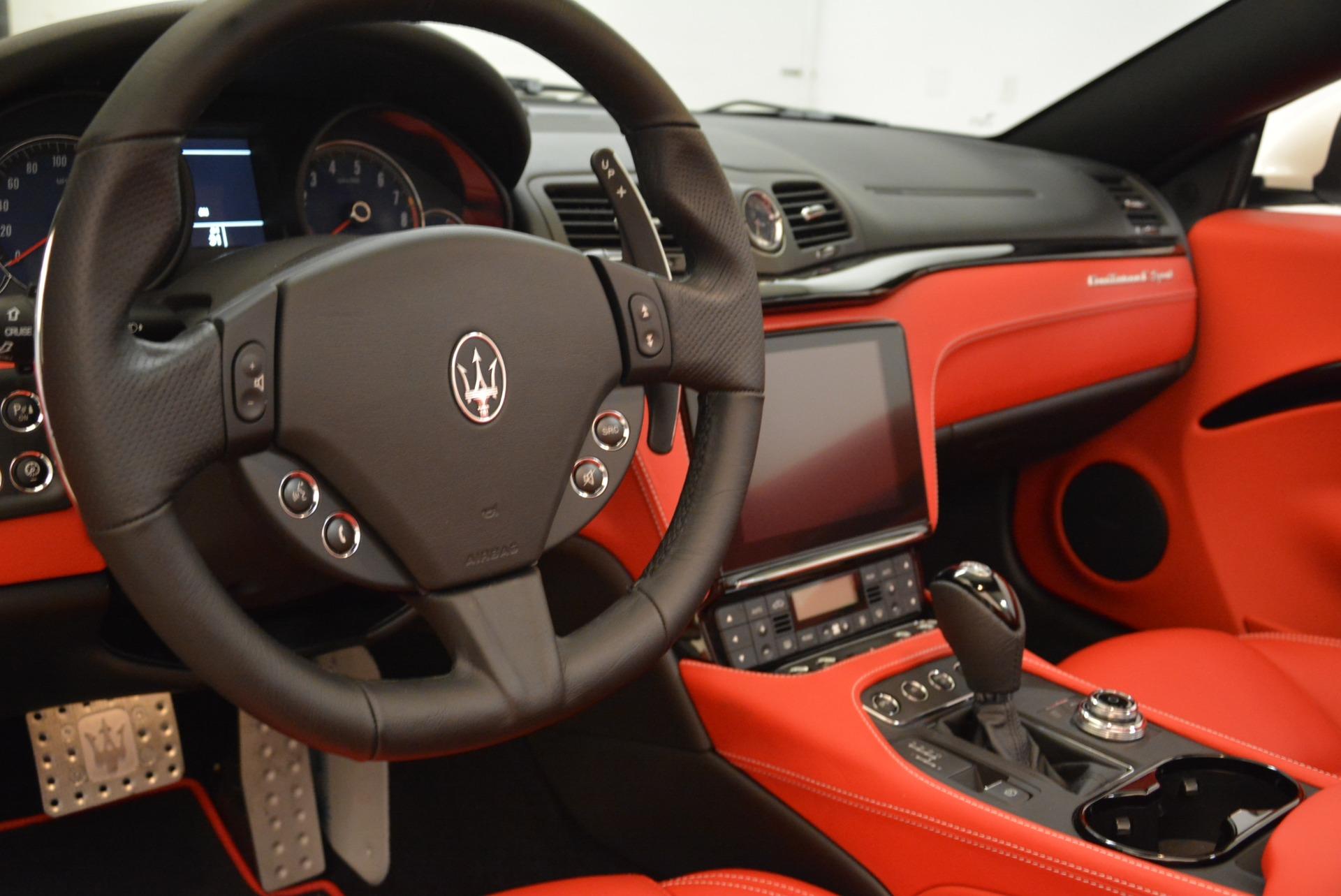 New 2018 Maserati GranTurismo Sport Convertible For Sale In Greenwich, CT. Alfa Romeo of Greenwich, M2036 1979_p27