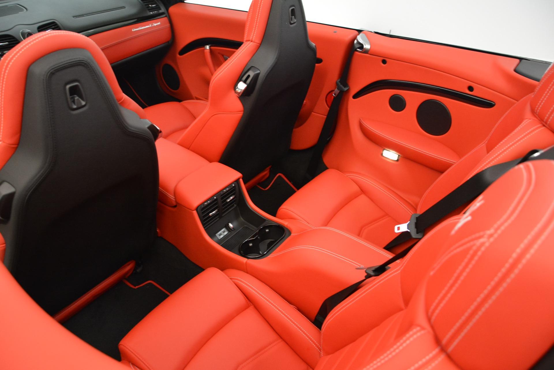 New 2018 Maserati GranTurismo Sport Convertible For Sale In Greenwich, CT. Alfa Romeo of Greenwich, M2036 1979_p29