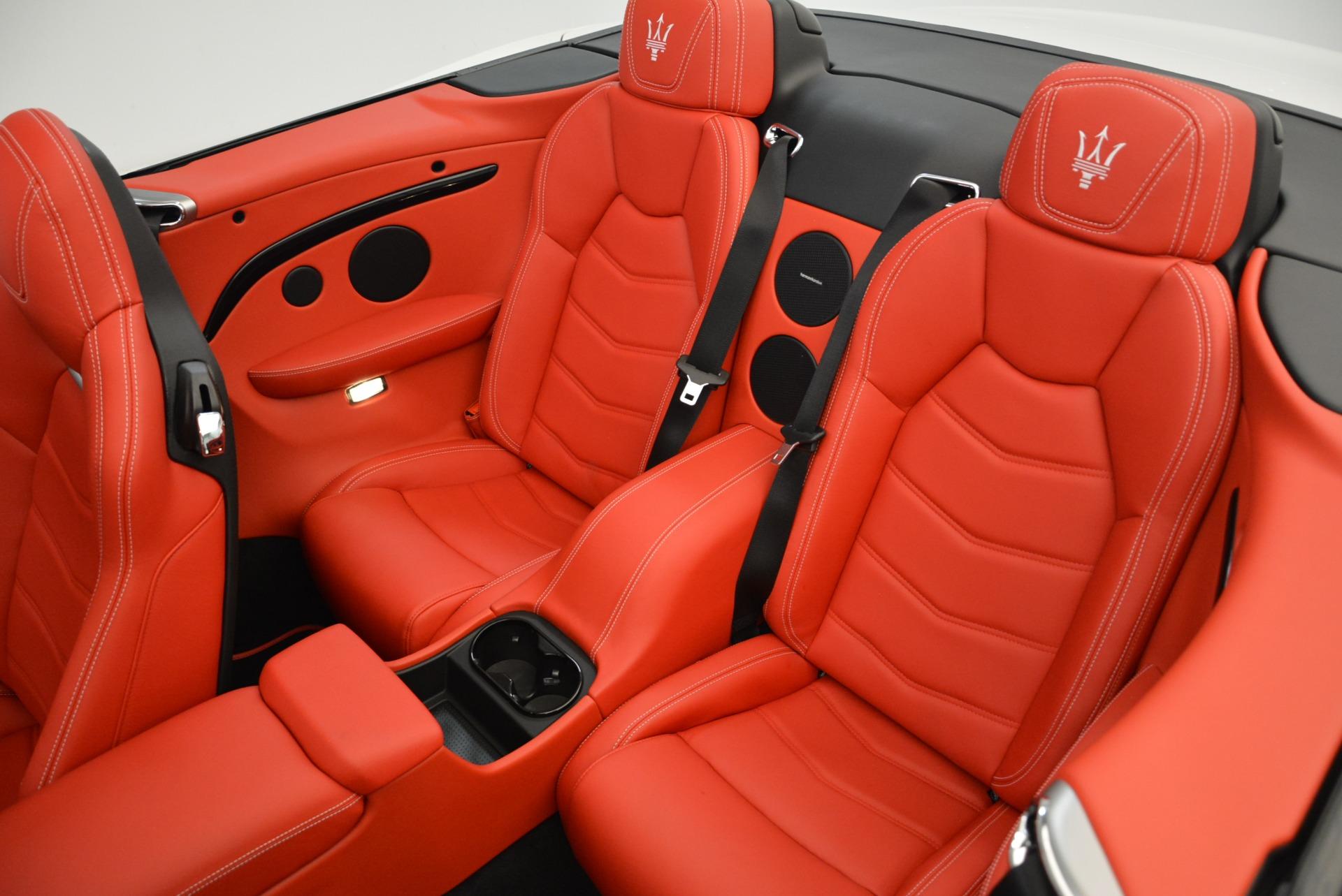 New 2018 Maserati GranTurismo Sport Convertible For Sale In Greenwich, CT. Alfa Romeo of Greenwich, M2036 1979_p30
