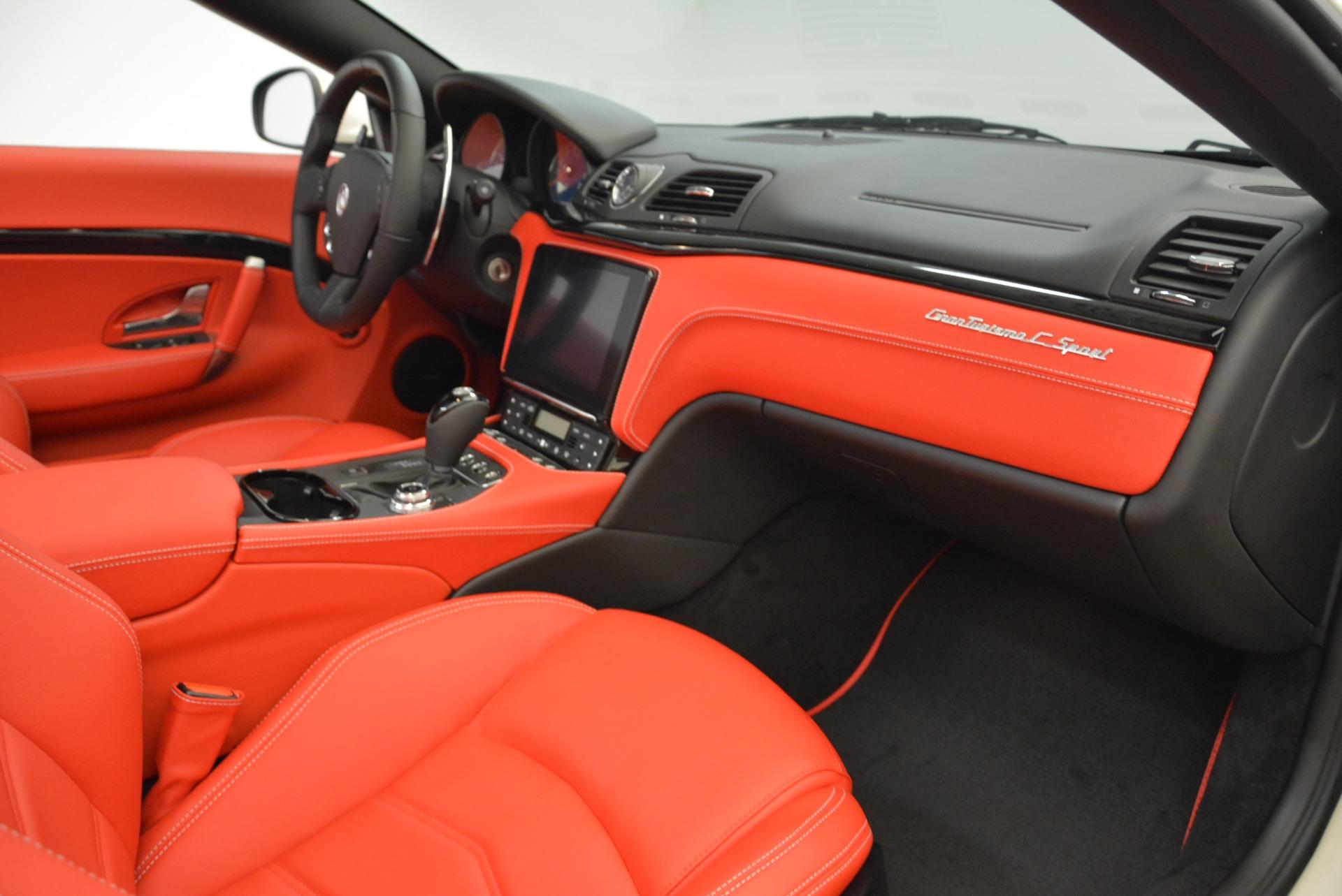 New 2018 Maserati GranTurismo Sport Convertible For Sale In Greenwich, CT. Alfa Romeo of Greenwich, M2036 1979_p33