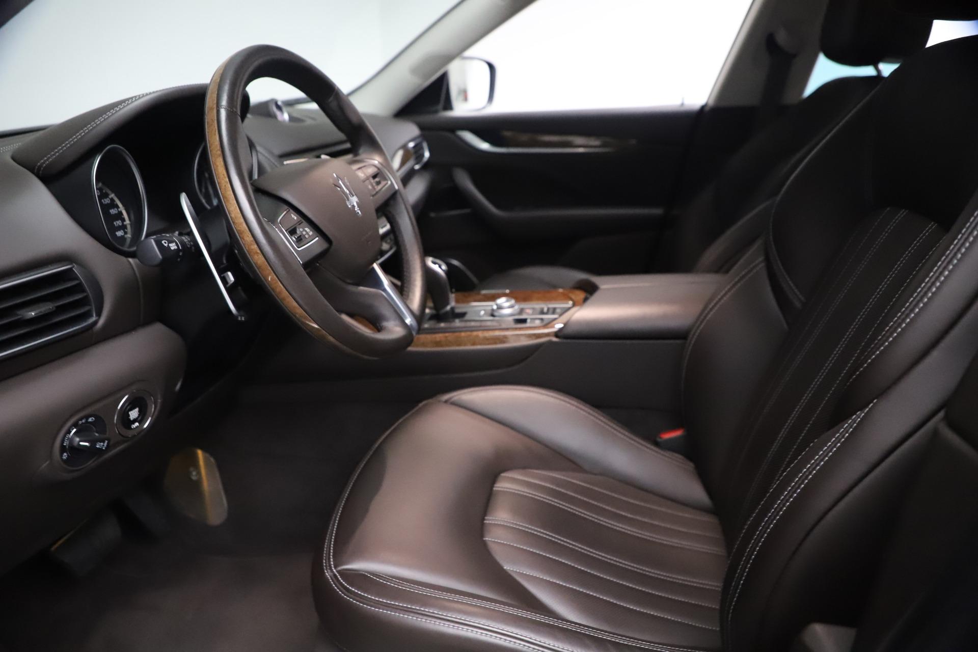New 2018 Maserati Levante S Q4 GranLusso For Sale In Greenwich, CT. Alfa Romeo of Greenwich, W563 1990_p13