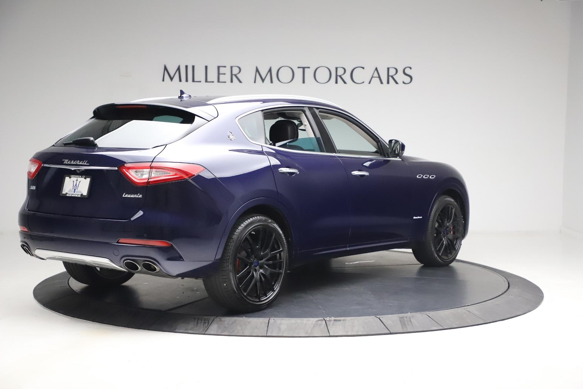 New 2018 Maserati Levante S Q4 GranLusso For Sale In Greenwich, CT. Alfa Romeo of Greenwich, W563 1990_p7