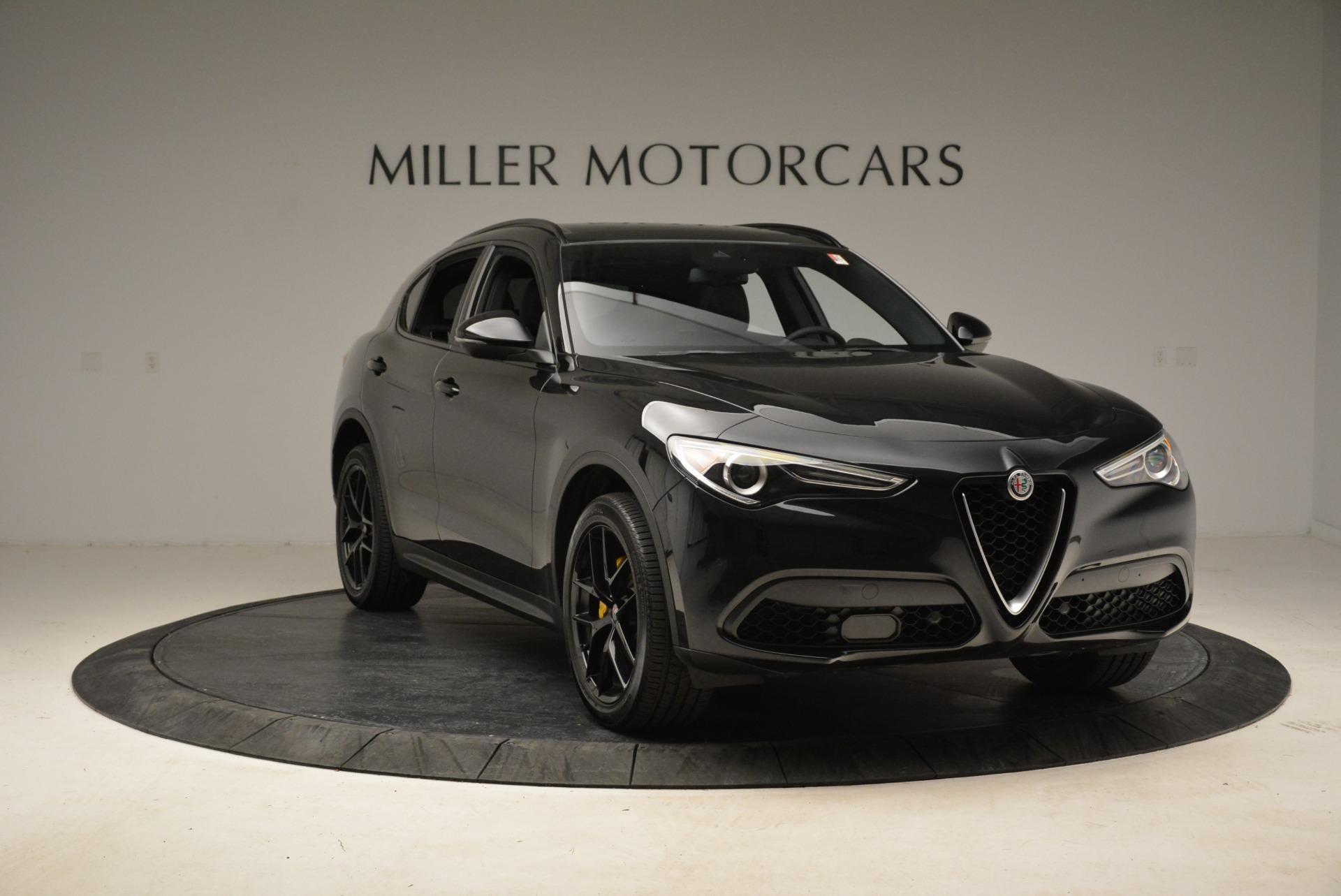 New 2018 Alfa Romeo Stelvio Ti Sport Q4 For Sale In Greenwich, CT. Alfa Romeo of Greenwich, L331 2002_p11