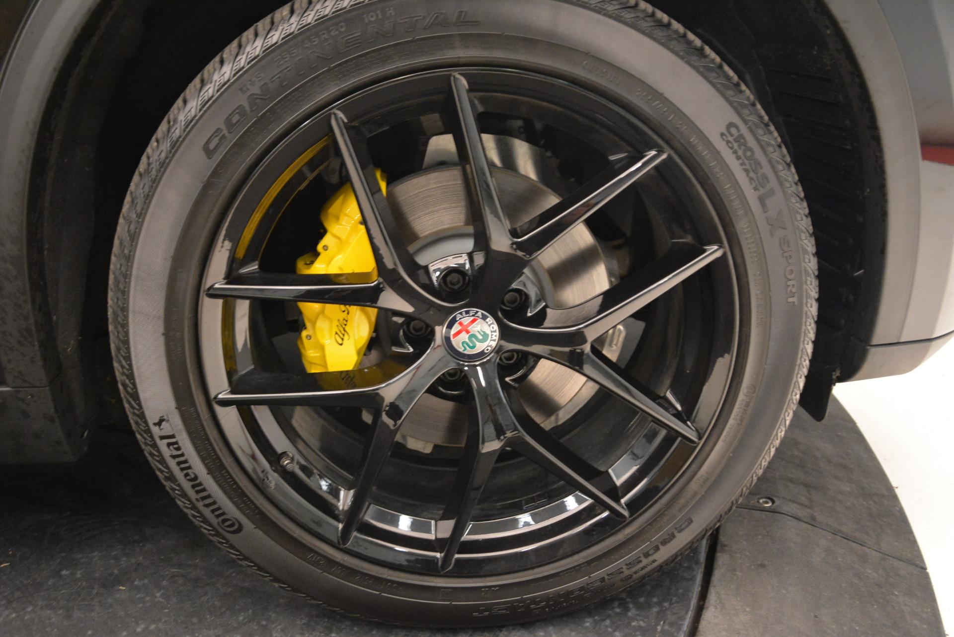 New 2018 Alfa Romeo Stelvio Ti Sport Q4 For Sale In Greenwich, CT. Alfa Romeo of Greenwich, L331 2002_p25