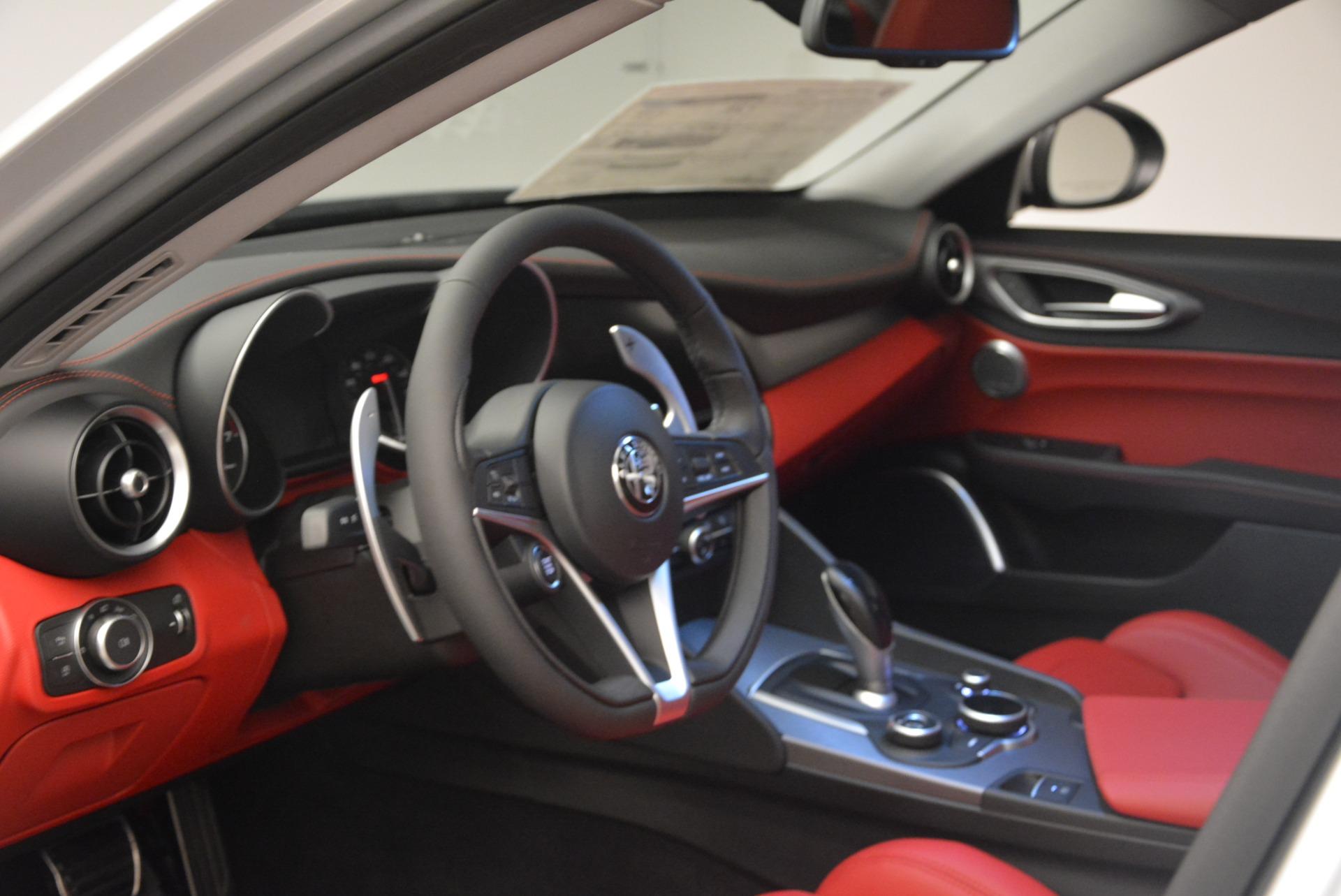 New 2018 Alfa Romeo Giulia Ti Sport Q4 For Sale In Greenwich, CT. Alfa Romeo of Greenwich, L334 2003_p13