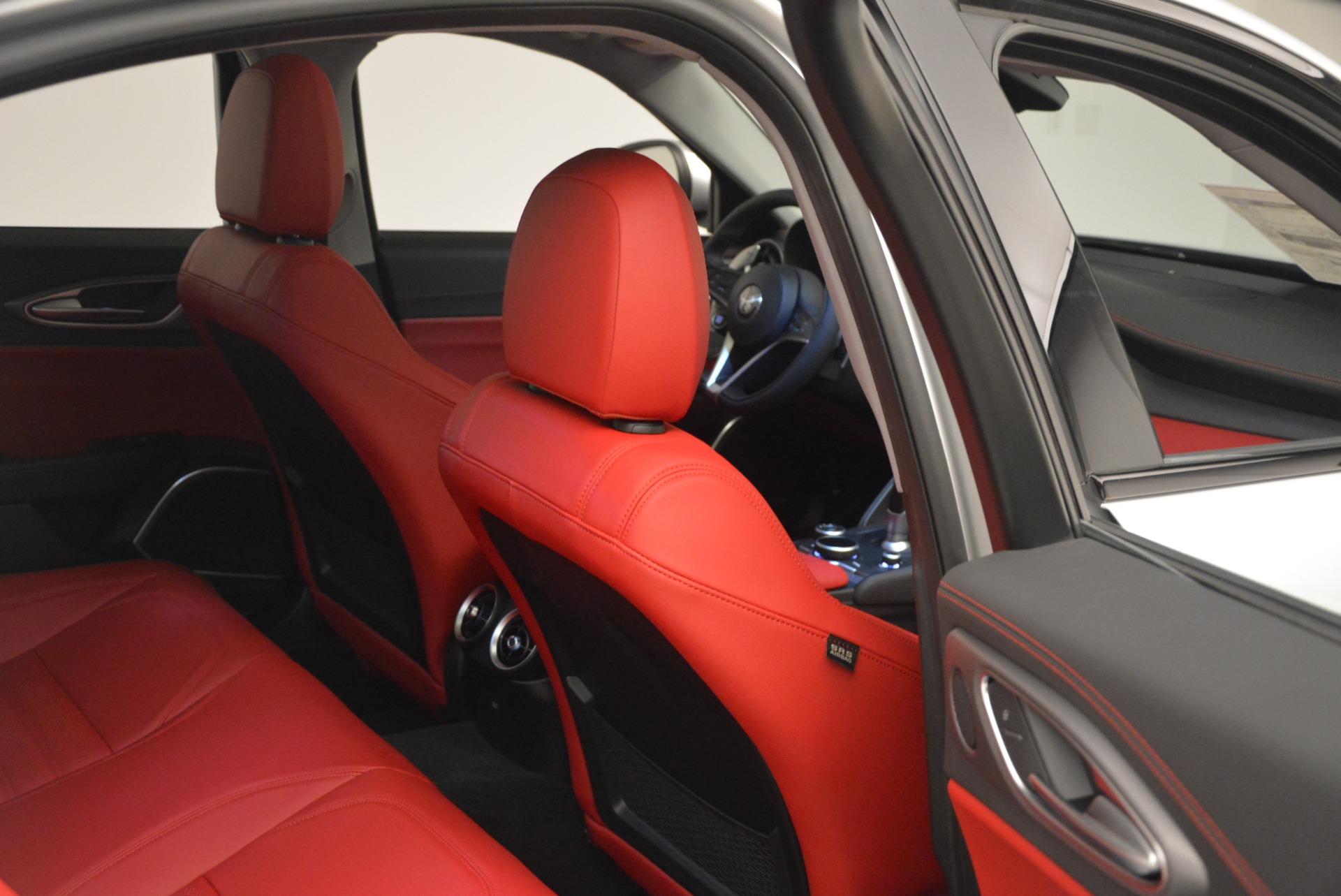 New 2018 Alfa Romeo Giulia Ti Sport Q4 For Sale In Greenwich, CT. Alfa Romeo of Greenwich, L334 2003_p22