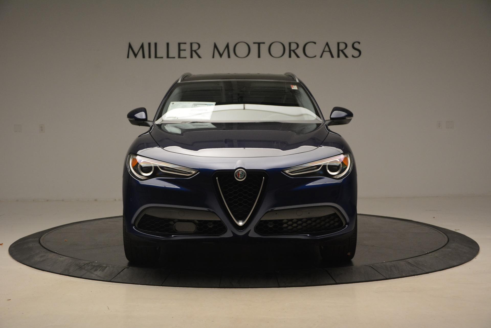 New 2018 Alfa Romeo Stelvio Ti Sport Q4 For Sale In Greenwich, CT. Alfa Romeo of Greenwich, L345 2012_p12