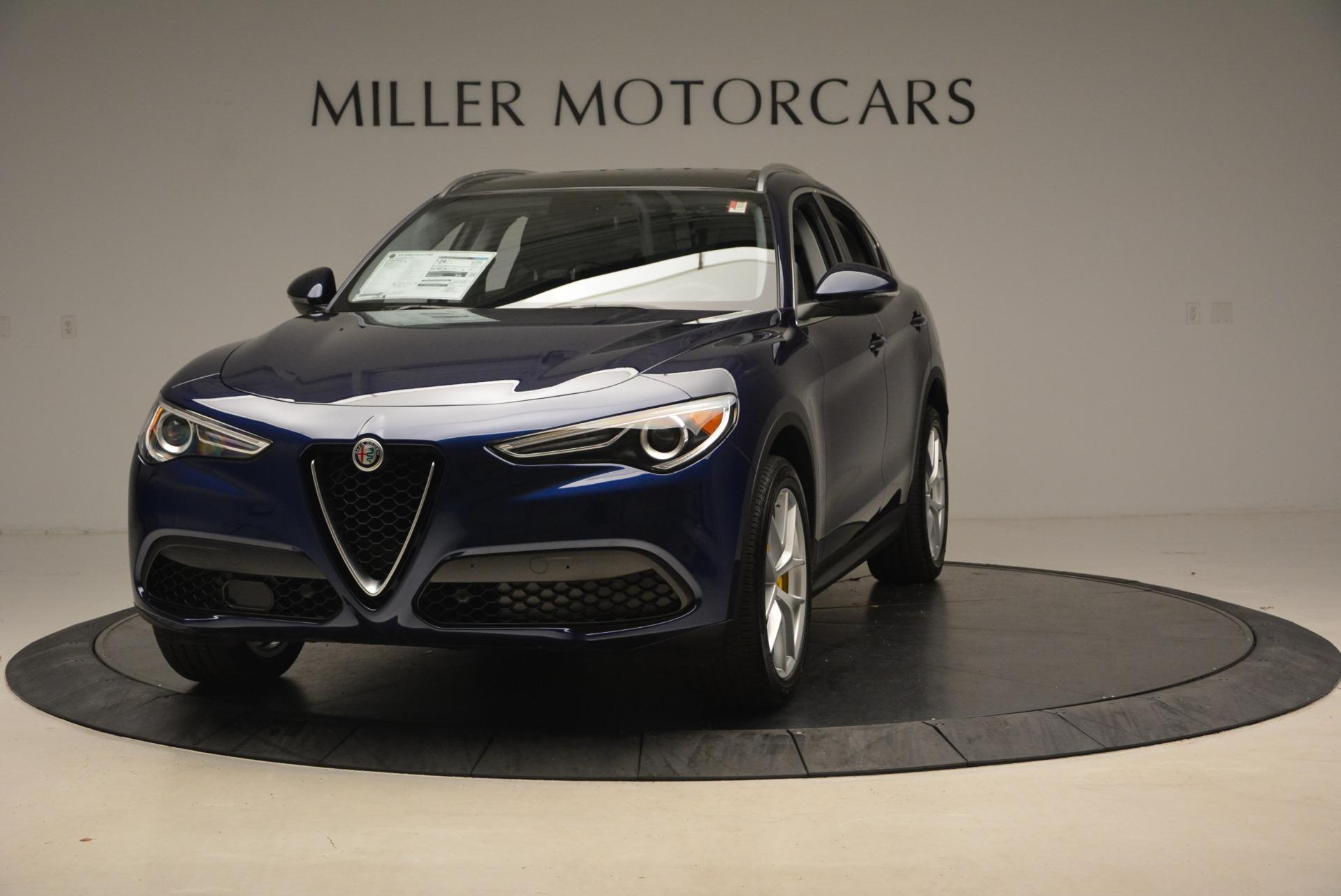 New 2018 Alfa Romeo Stelvio Ti Sport Q4 For Sale In Greenwich, CT. Alfa Romeo of Greenwich, L345 2012_p2
