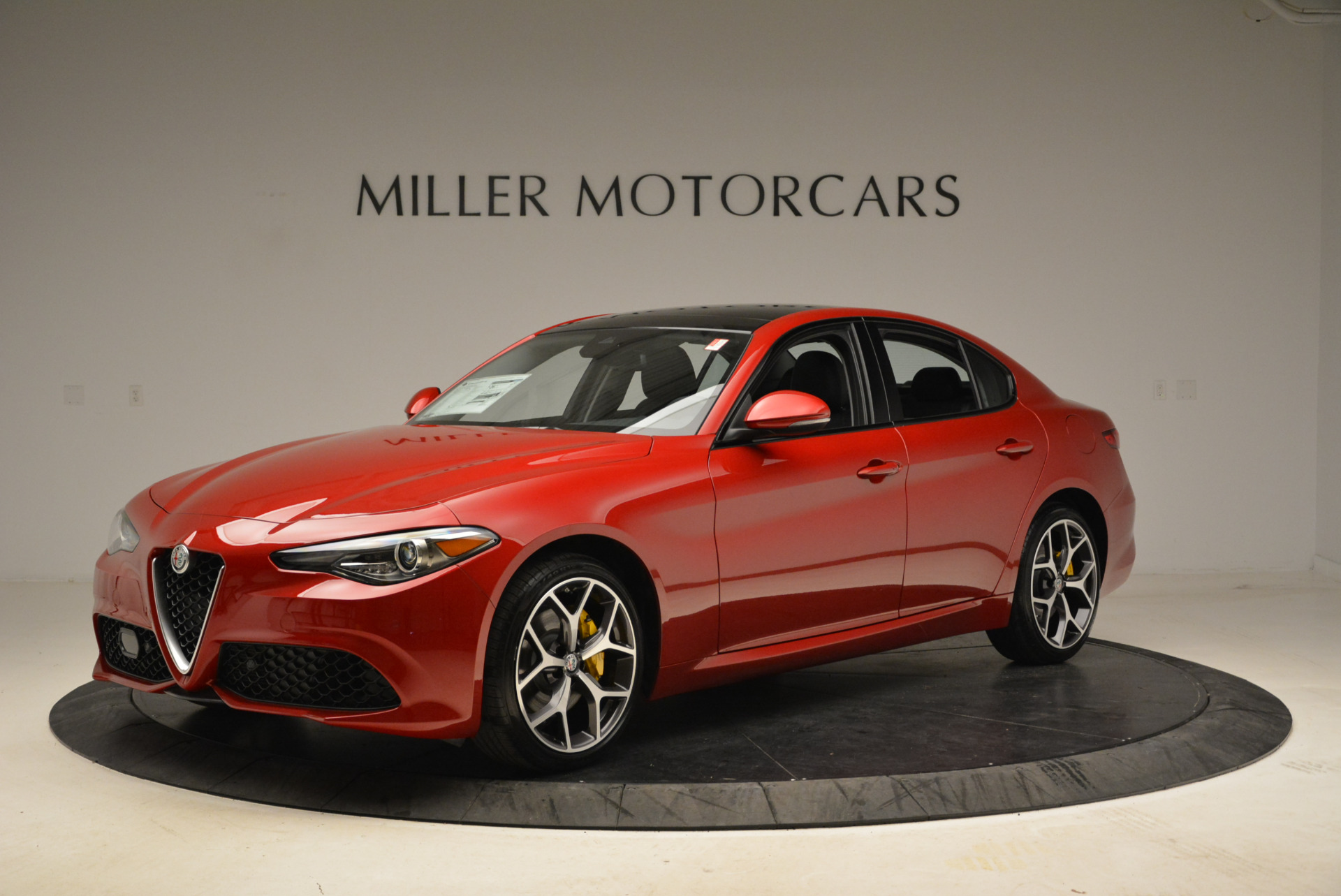 New 2018 Alfa Romeo Giulia Ti Sport Q4 For Sale In Greenwich, CT. Alfa Romeo of Greenwich, L342 2016_p2
