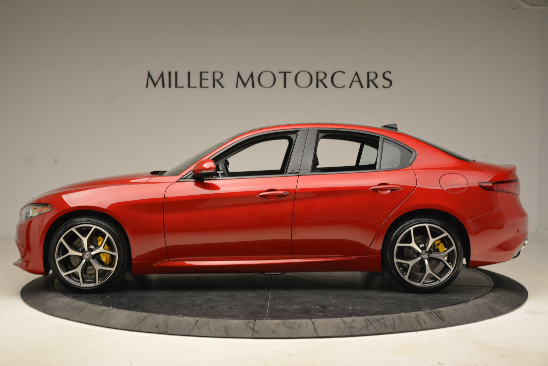 New 2018 Alfa Romeo Giulia Ti Sport Q4 For Sale In Greenwich, CT. Alfa Romeo of Greenwich, L342 2016_p3