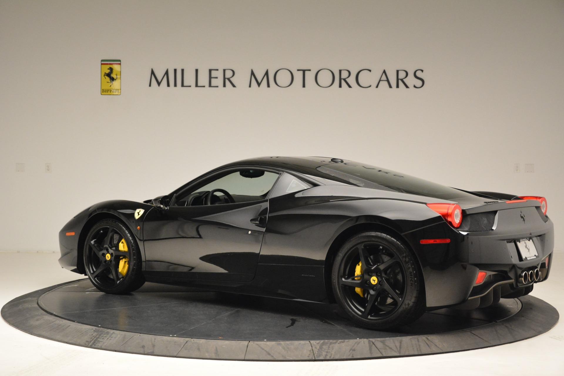 Used 2011 Ferrari 458 Italia  For Sale In Greenwich, CT. Alfa Romeo of Greenwich, 4450C 2018_p4