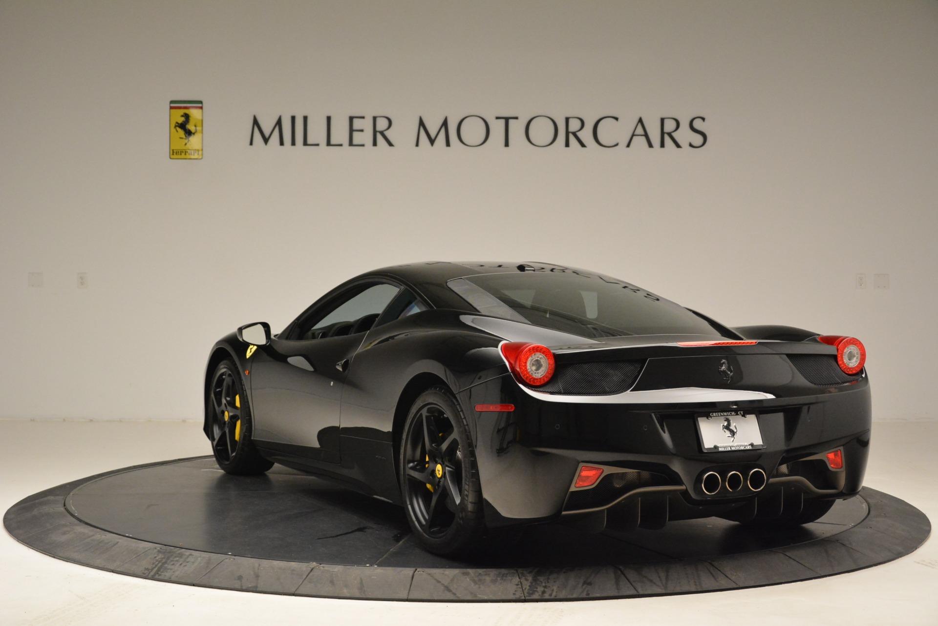 Used 2011 Ferrari 458 Italia  For Sale In Greenwich, CT. Alfa Romeo of Greenwich, 4450C 2018_p5