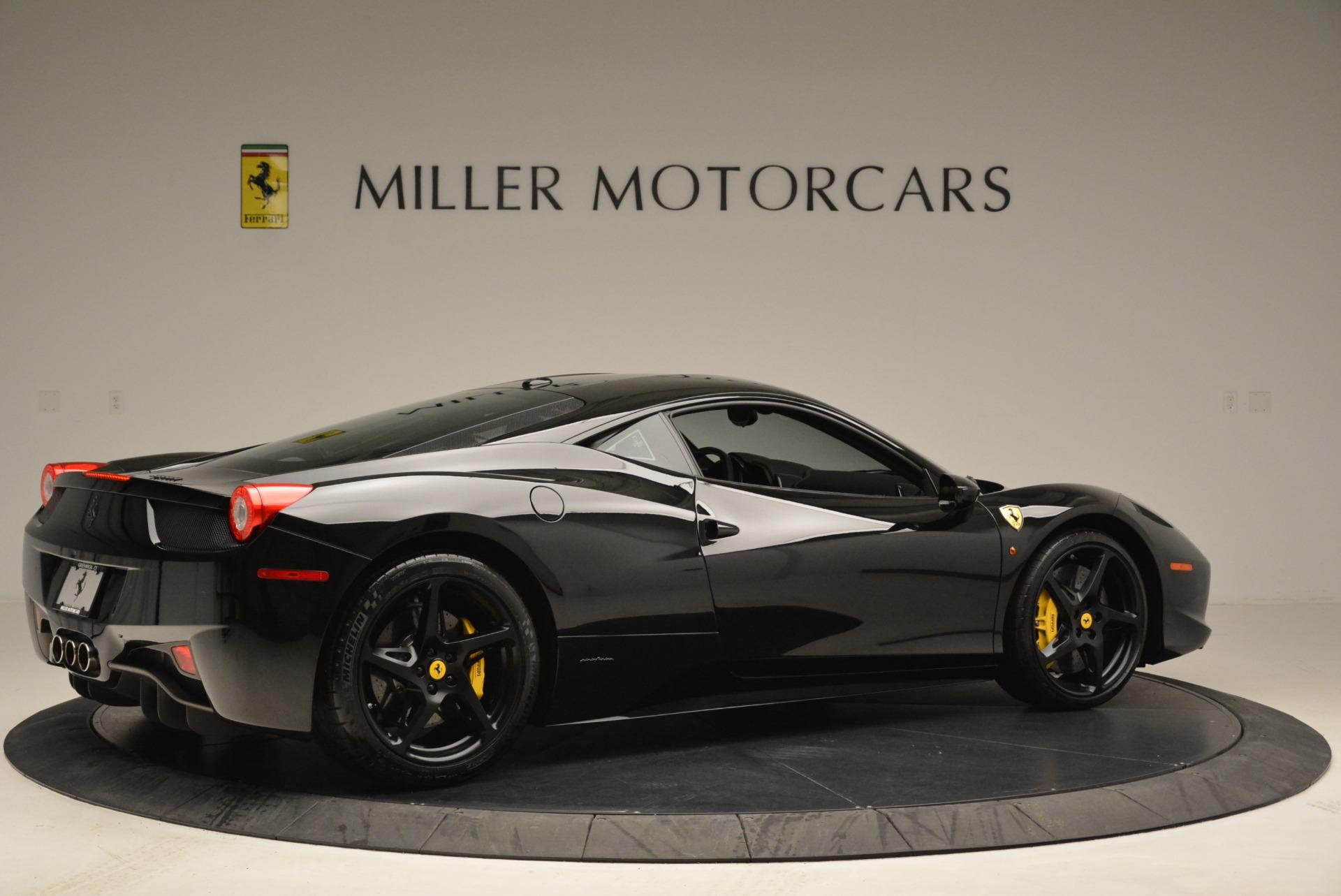 Used 2011 Ferrari 458 Italia  For Sale In Greenwich, CT. Alfa Romeo of Greenwich, 4450C 2018_p8