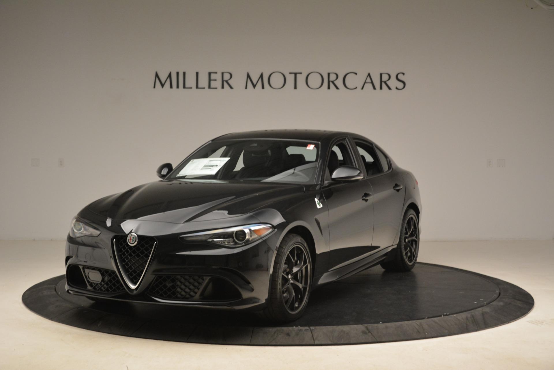 New 2018 Alfa Romeo Giulia Quadrifoglio For Sale In Greenwich, CT. Alfa Romeo of Greenwich, L348 2022_main