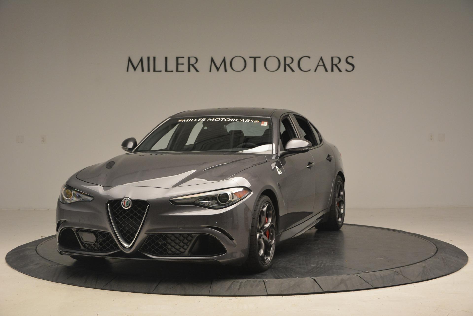 New 2018 Alfa Romeo Giulia Quadrifoglio For Sale In Greenwich, CT. Alfa Romeo of Greenwich, L351 2024_main