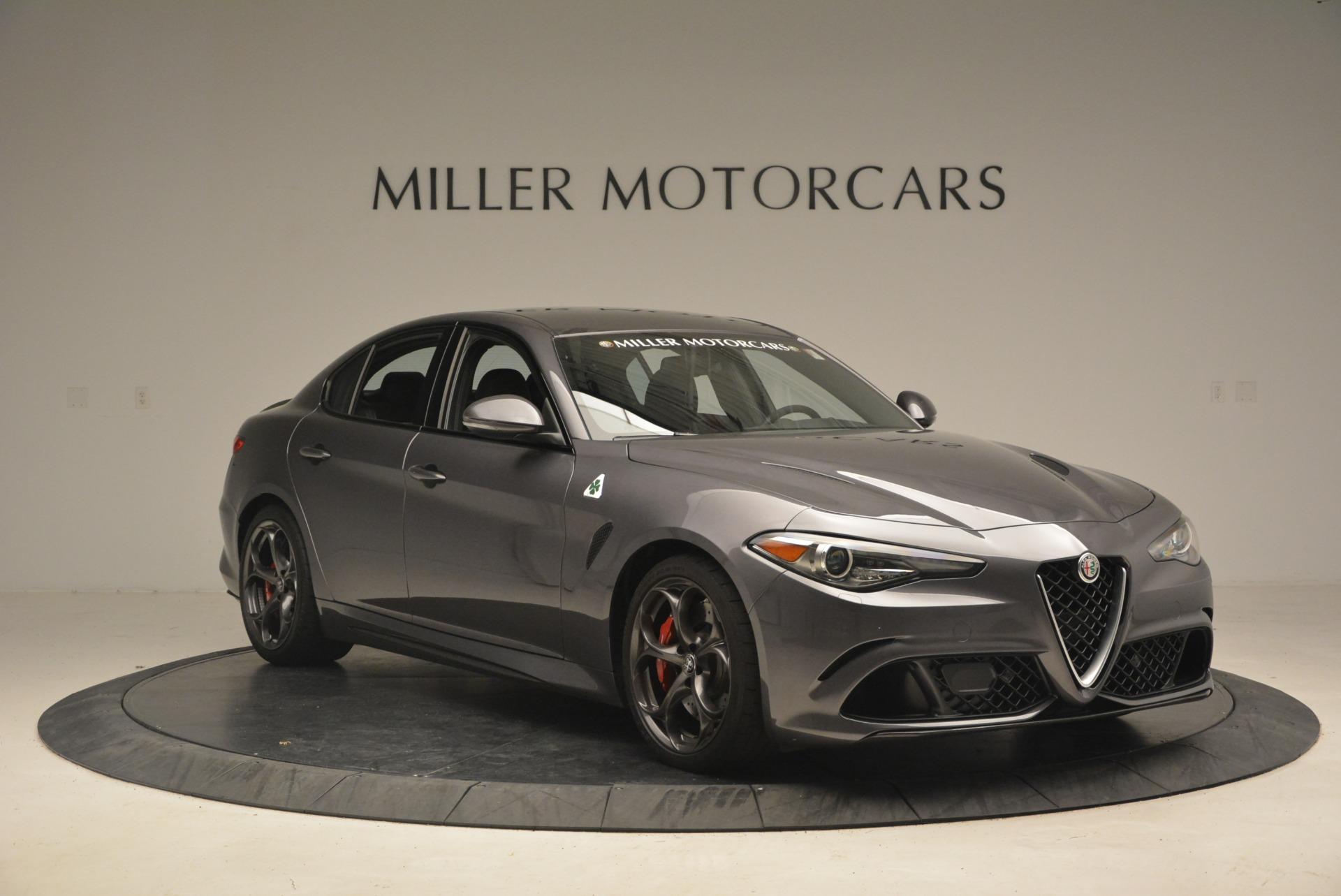 New 2018 Alfa Romeo Giulia Quadrifoglio For Sale In Greenwich, CT. Alfa Romeo of Greenwich, L351 2024_p11