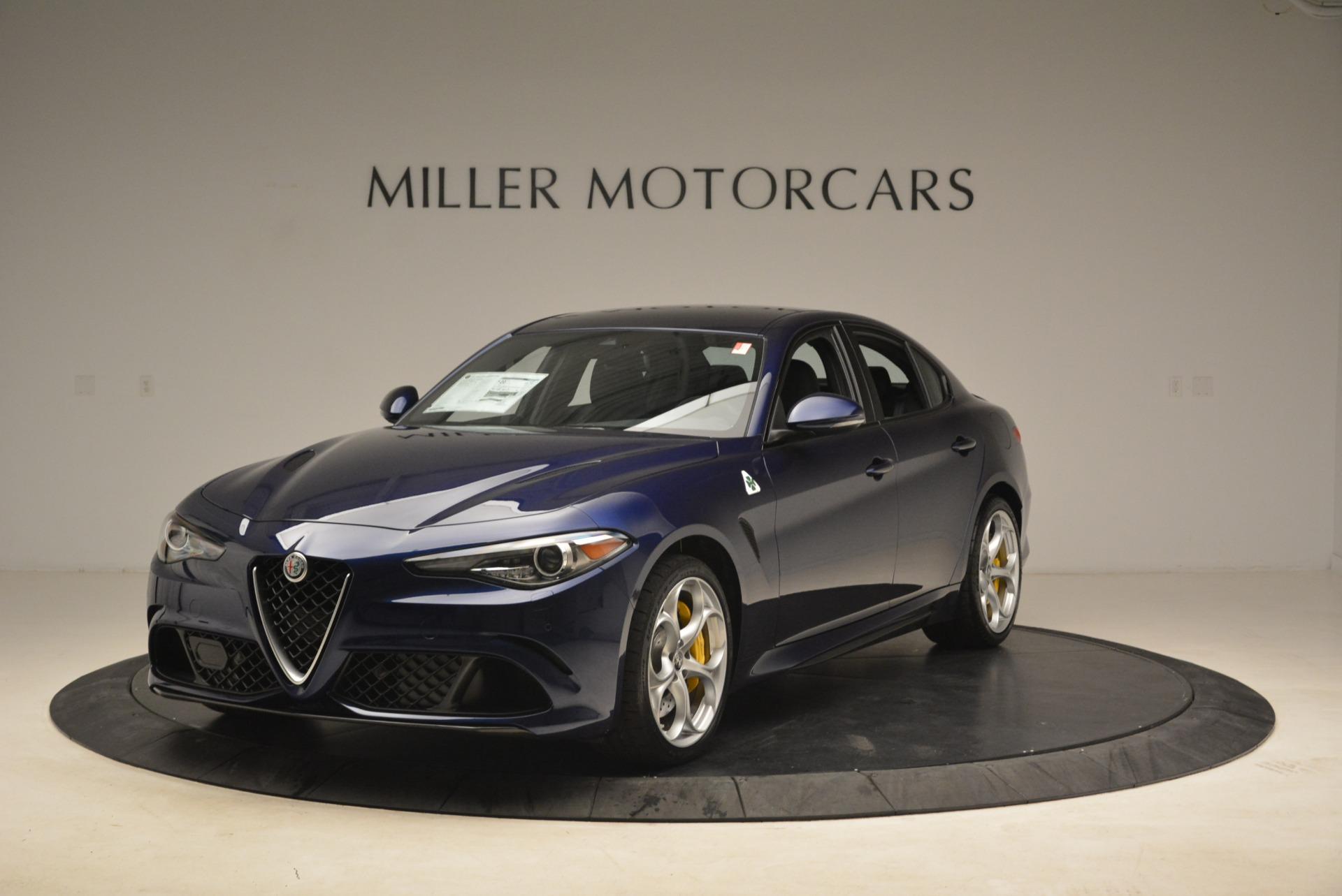 New 2018 Alfa Romeo Giulia Quadrifoglio For Sale In Greenwich, CT. Alfa Romeo of Greenwich, L354 2026_main
