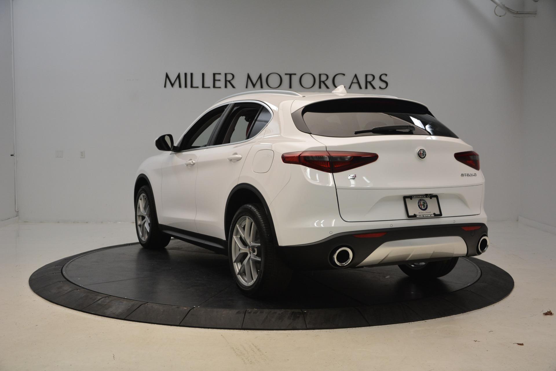 New 2018 Alfa Romeo Stelvio Ti Q4 For Sale In Greenwich, CT. Alfa Romeo of Greenwich, LW125 2027_p5