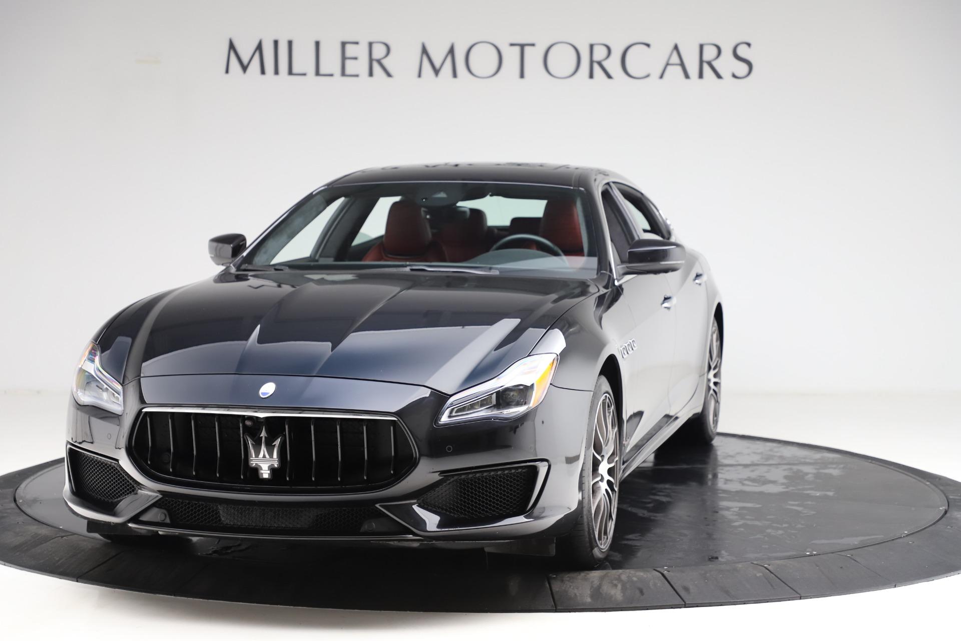 New 2018 Maserati Quattroporte S Q4 GranSport For Sale In Greenwich, CT. Alfa Romeo of Greenwich, W568 2029_main