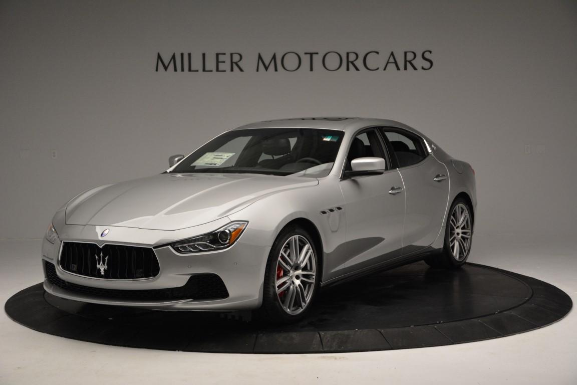 New 2016 Maserati Ghibli S Q4 For Sale In Greenwich, CT. Alfa Romeo of Greenwich, M1618 203_main